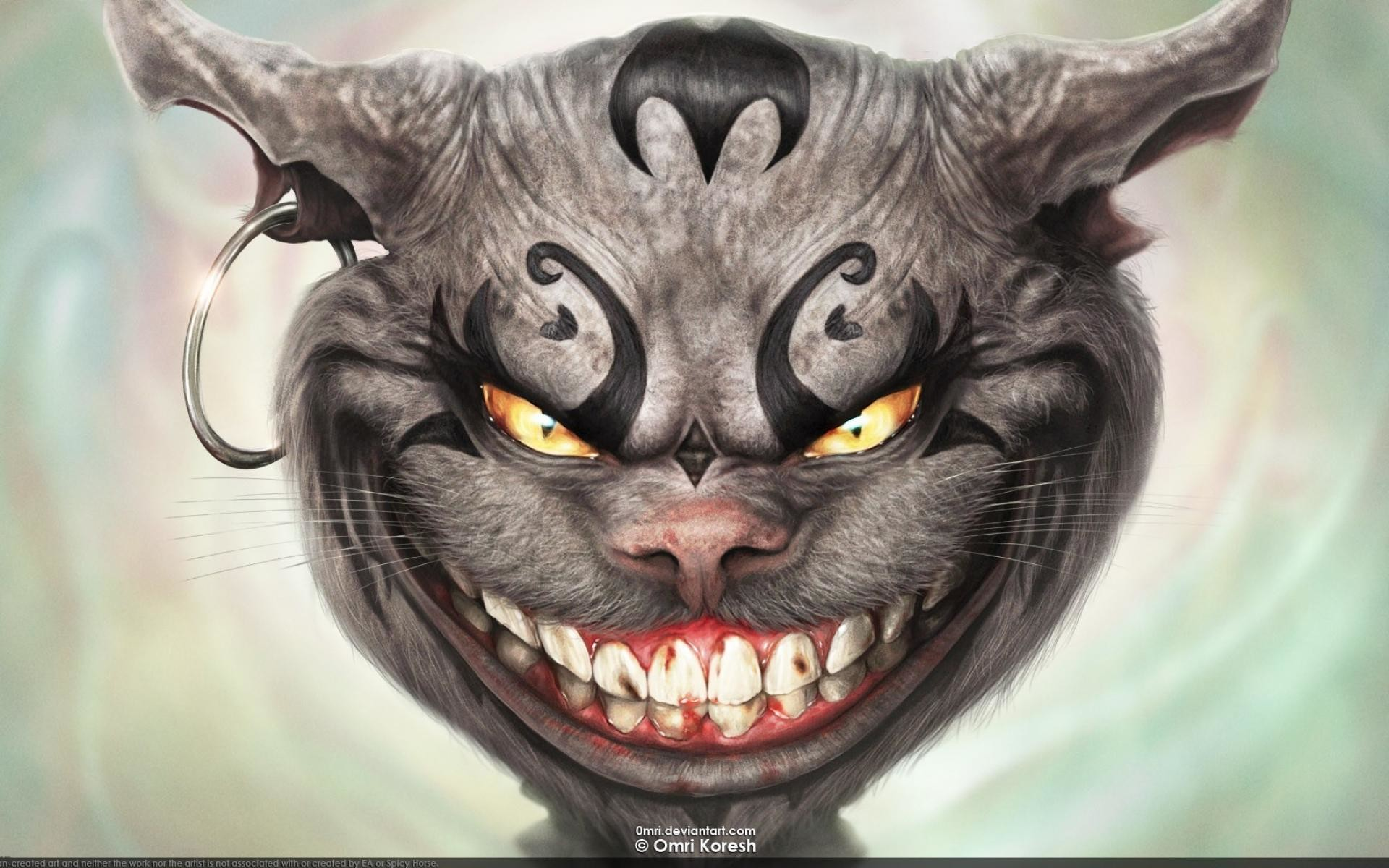 This cat scares dogs p