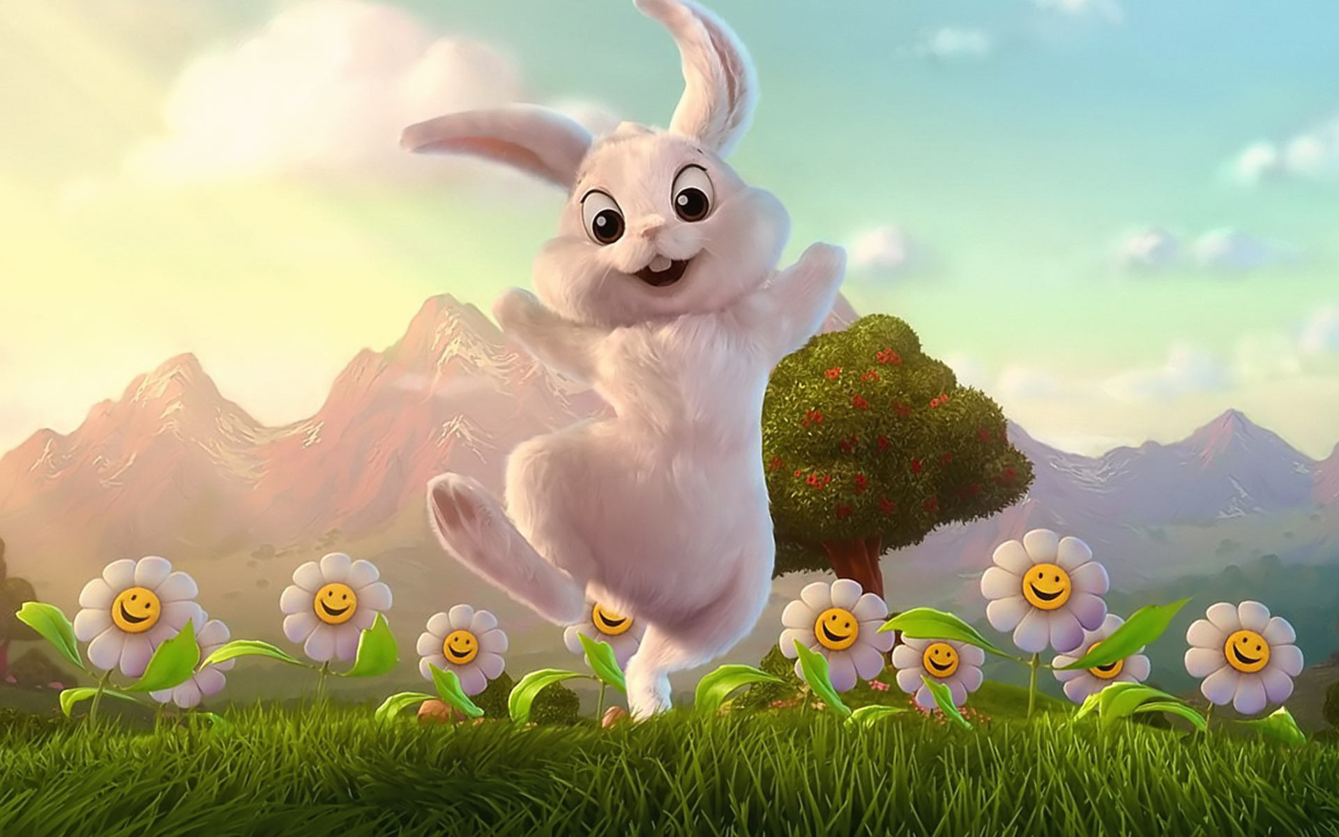 Easter bunny wallpaper #1041
