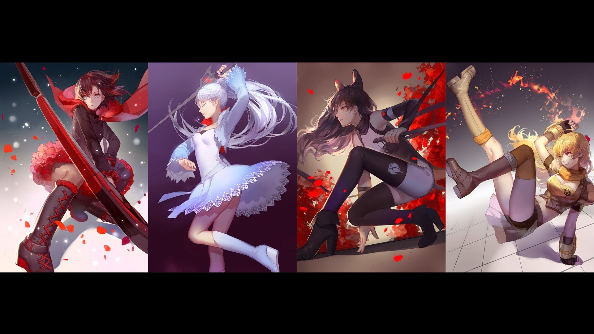 RWBY wallpapers youtube