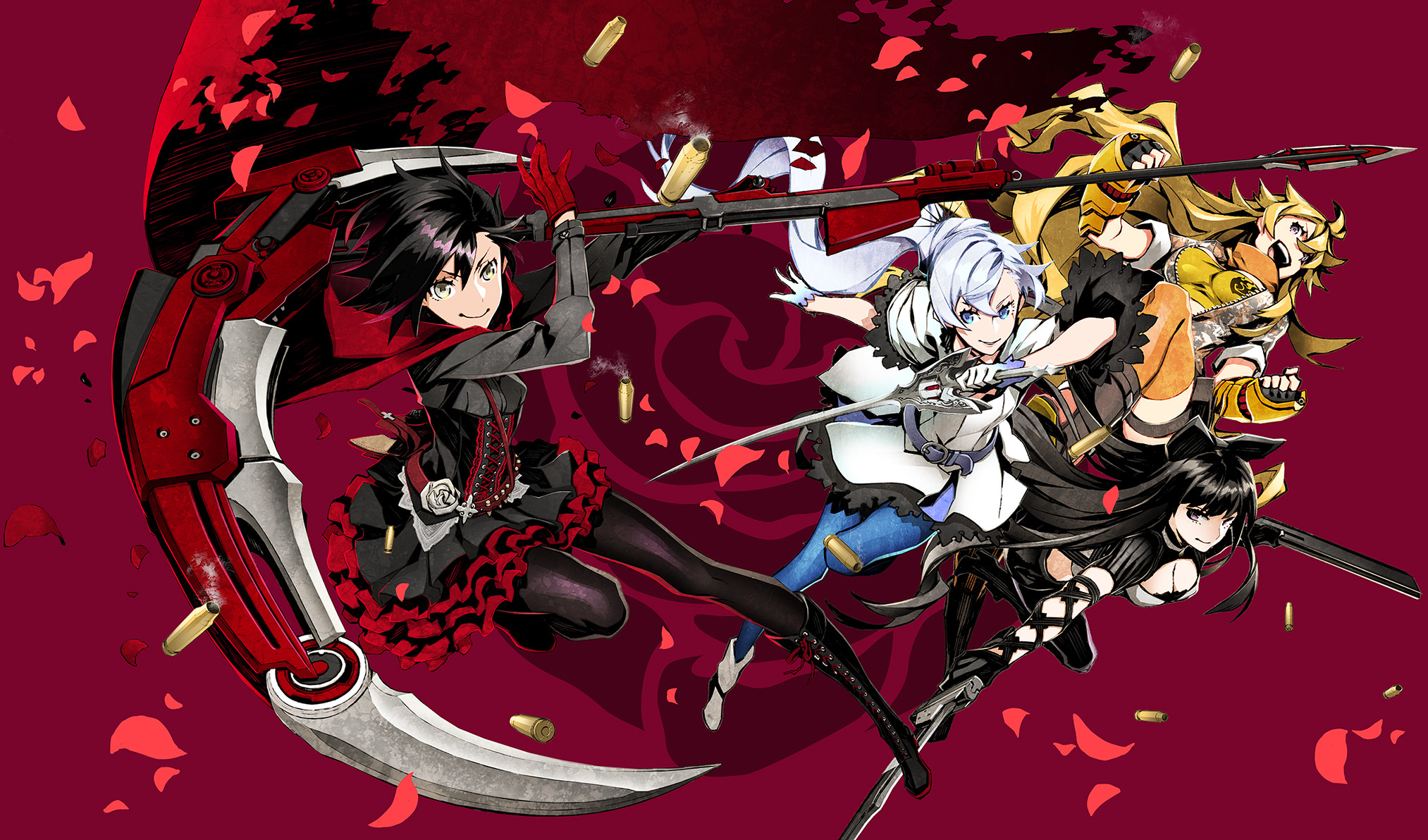 Anime – RWBY Blake Belladonna Ruby Rose (RWBY) Weiss Schnee Yang Xiao Long  Wallpaper