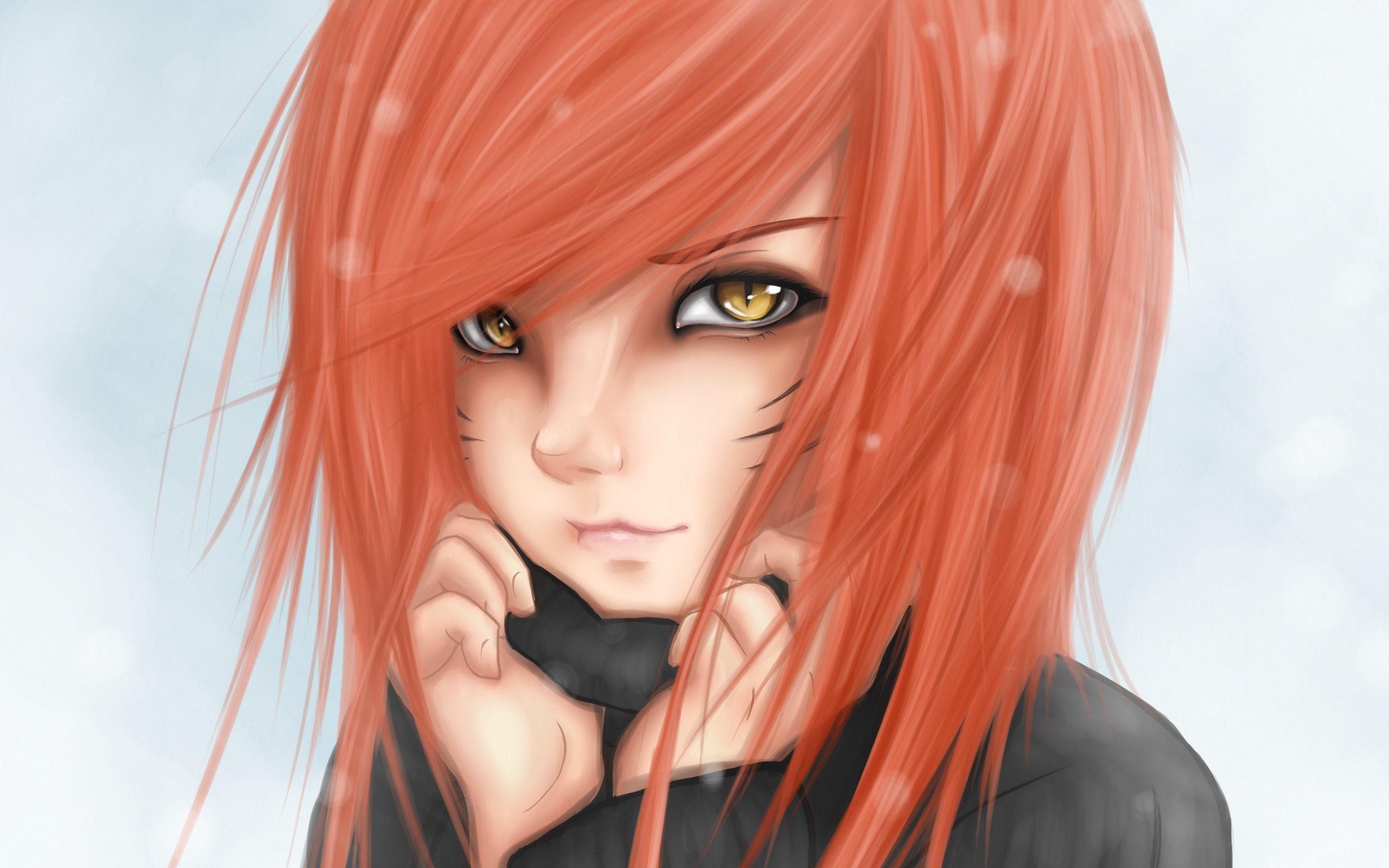 Catseye Anime Girl Wallpaper