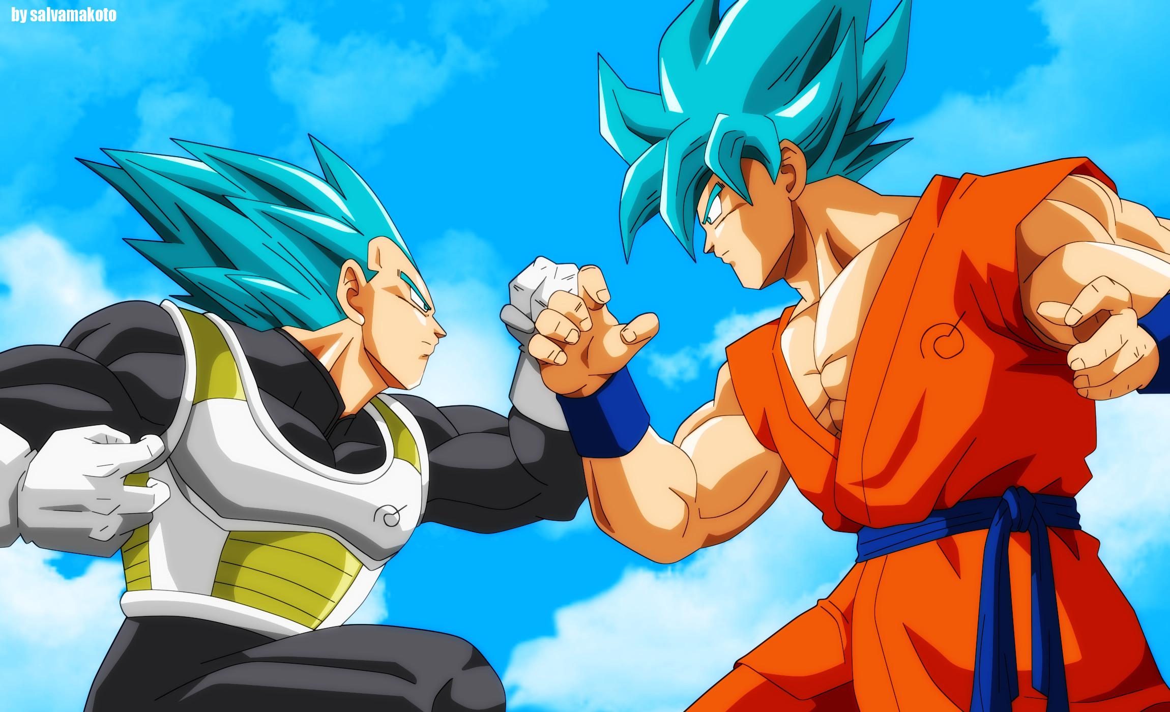 Dragon Ball Super Goku Super Saiyan Blue · HD Wallpaper | Background  ID:659623
