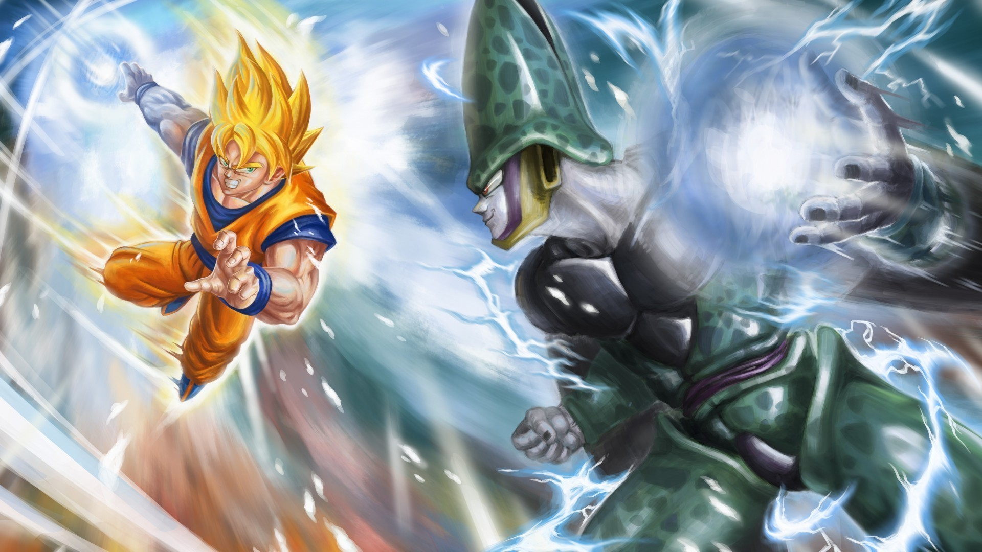 Dragon Ball, Super Saiyan, Cell (character), Perfect Cell Wallpapers HD /  Desktop and Mobile Backgrounds