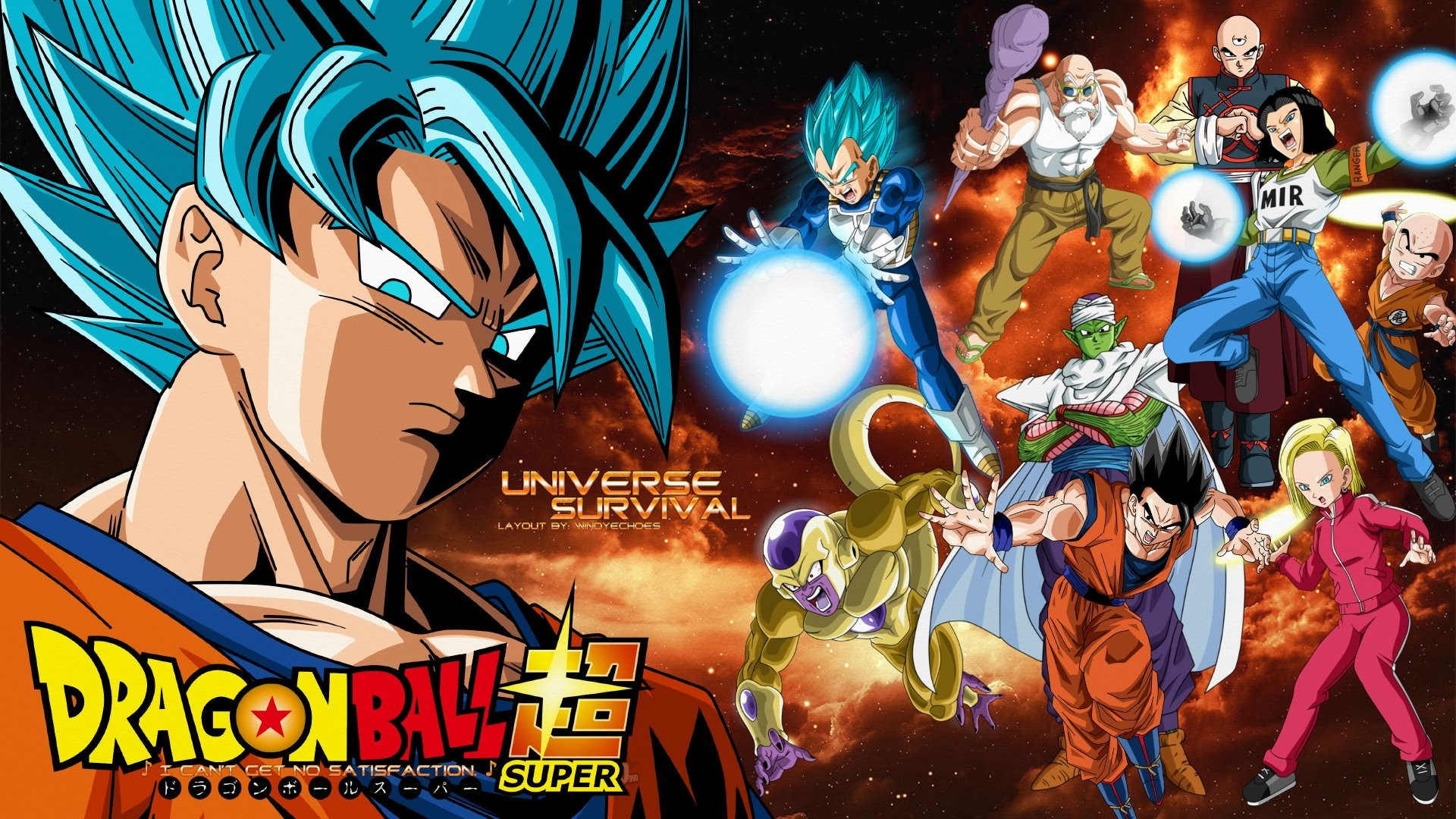 … Dragon Ball Super – Universe 7 Survival Wallpaper by WindyEchoes