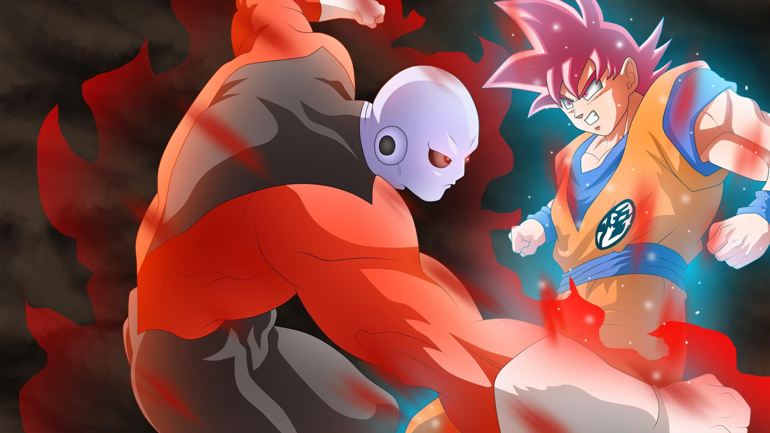 Jiren vs Goku Dragon Ball Super Wallpaper