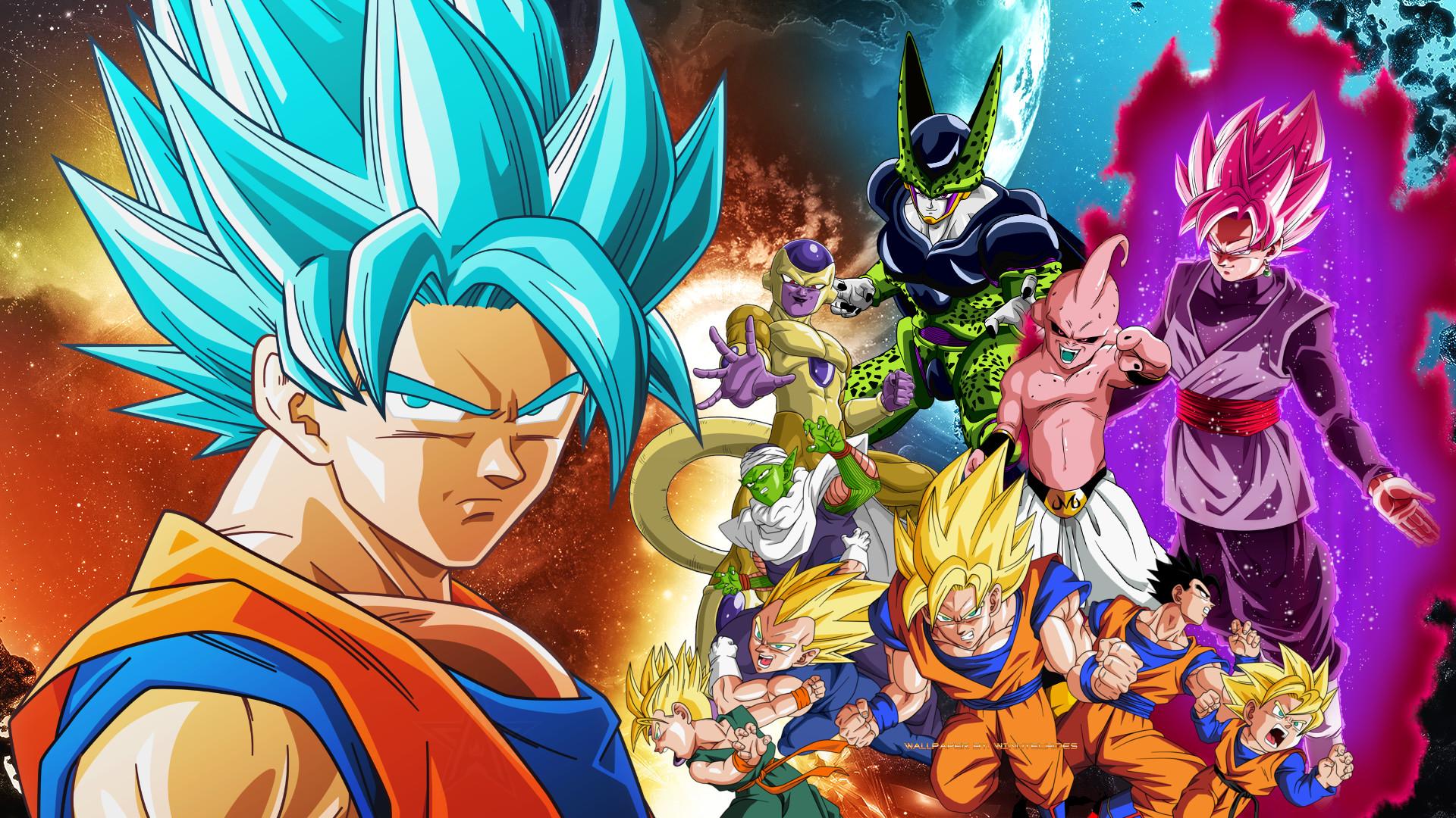 90 Dragon Ball Super Wallpaper Hd