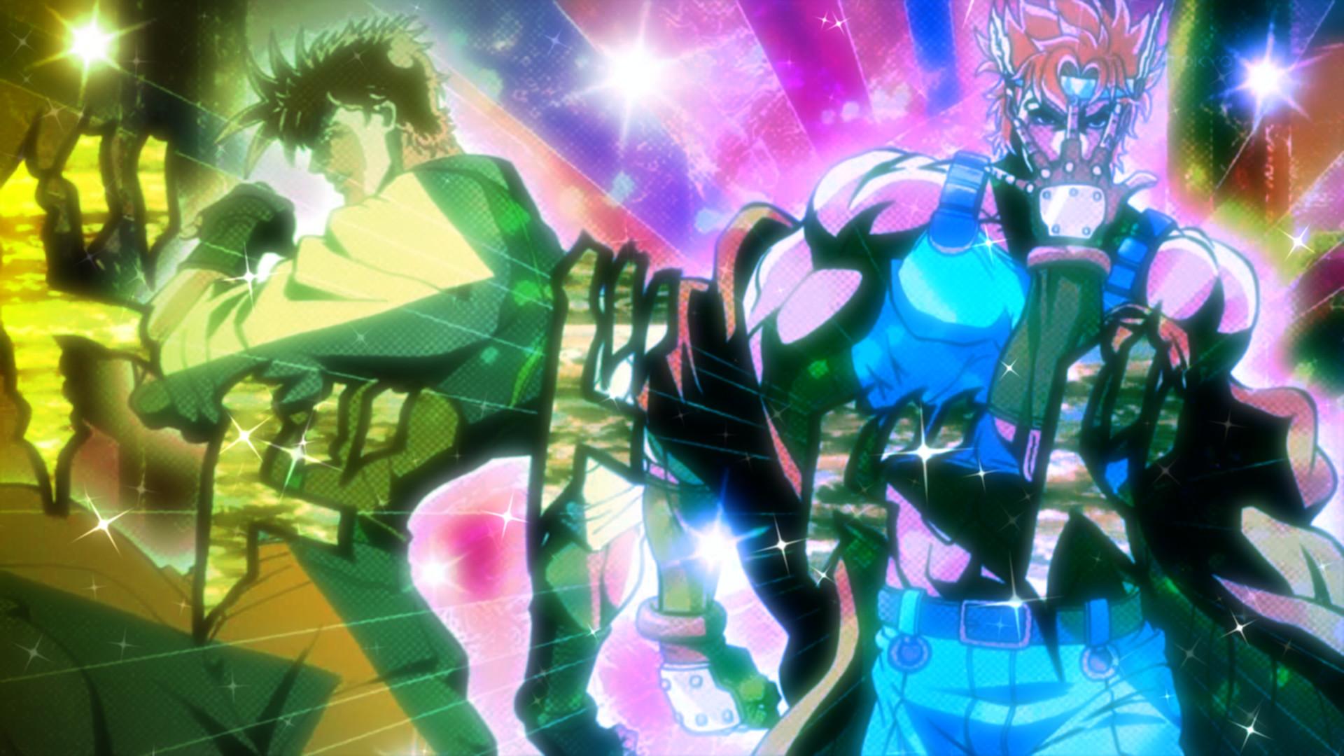 Anime – Jojo's Bizarre Adventure Joseph Joestar Caesar Zeppeli Wallpaper