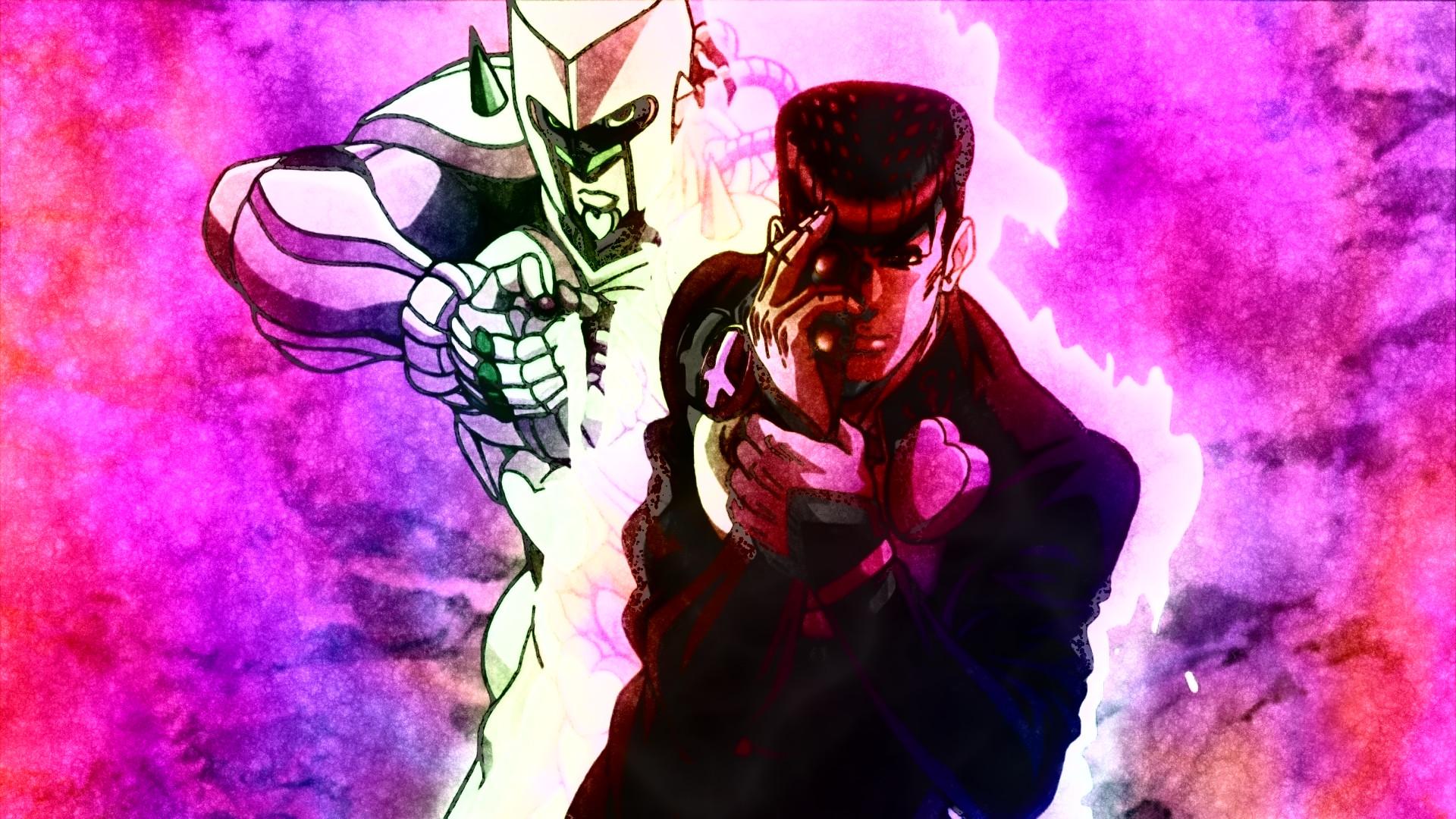 Anime – Jojo's Bizarre Adventure Crazy Diamond (Jojo's Bizarre Adventure)  Josuke Higashikata Bakgrund