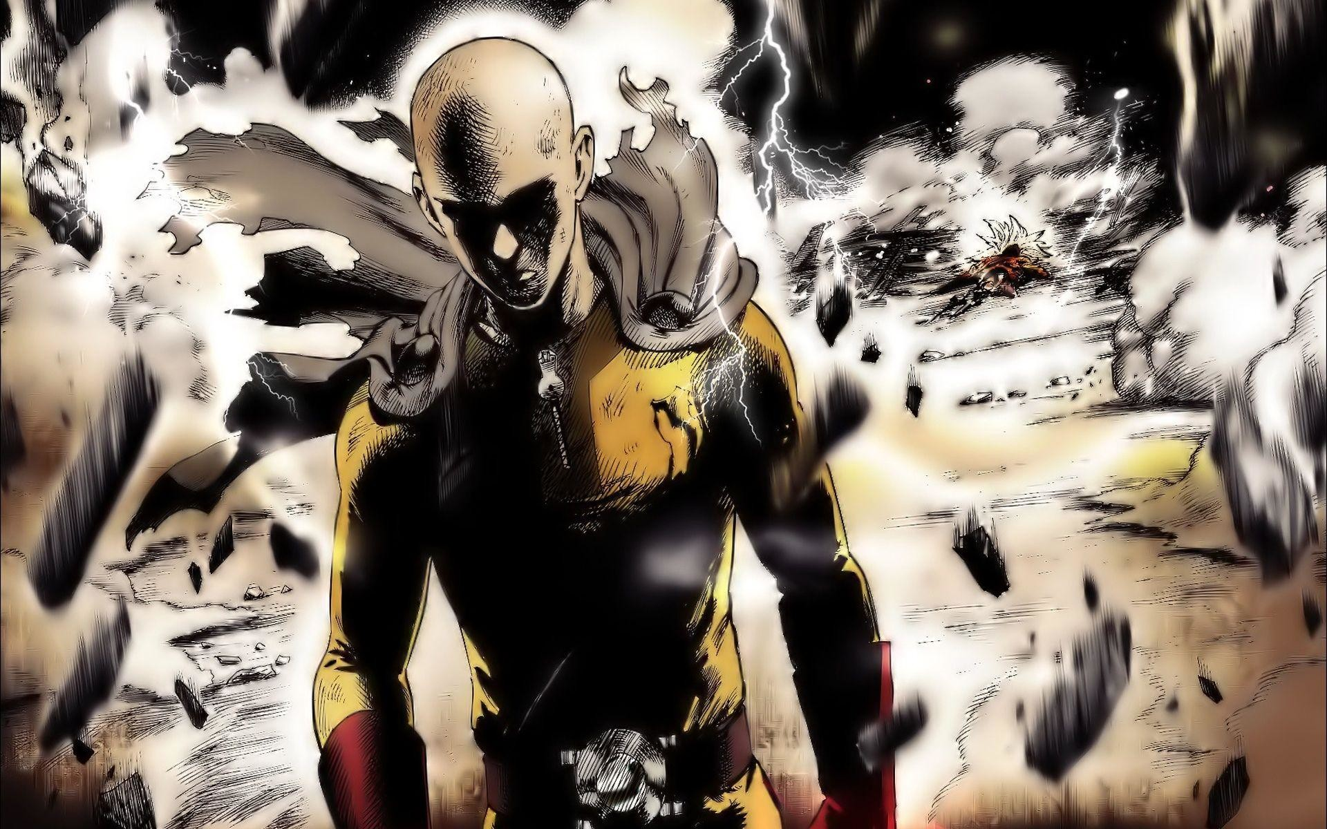 192 Saitama (One-Punch Man) HD Wallpapers | Backgrounds .
