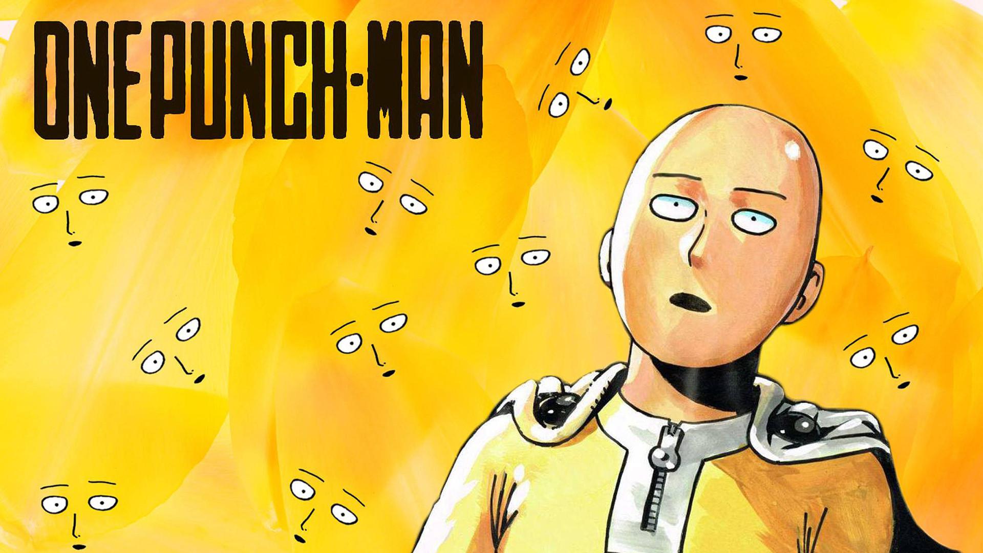 One Punch Man Saitama funny wallpaper