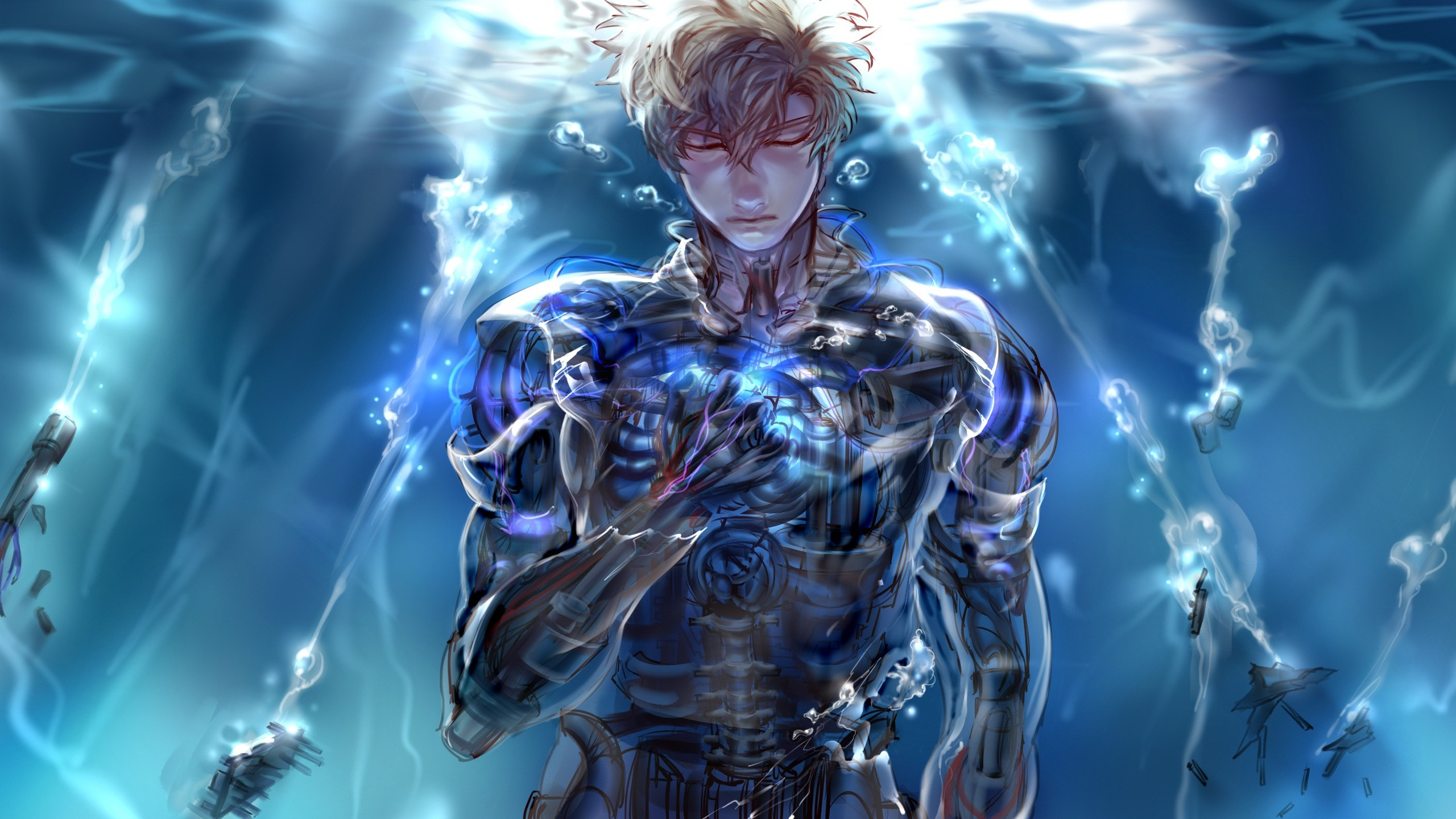 Anime – One-Punch Man Genos (One-Punch Man) Wallpaper