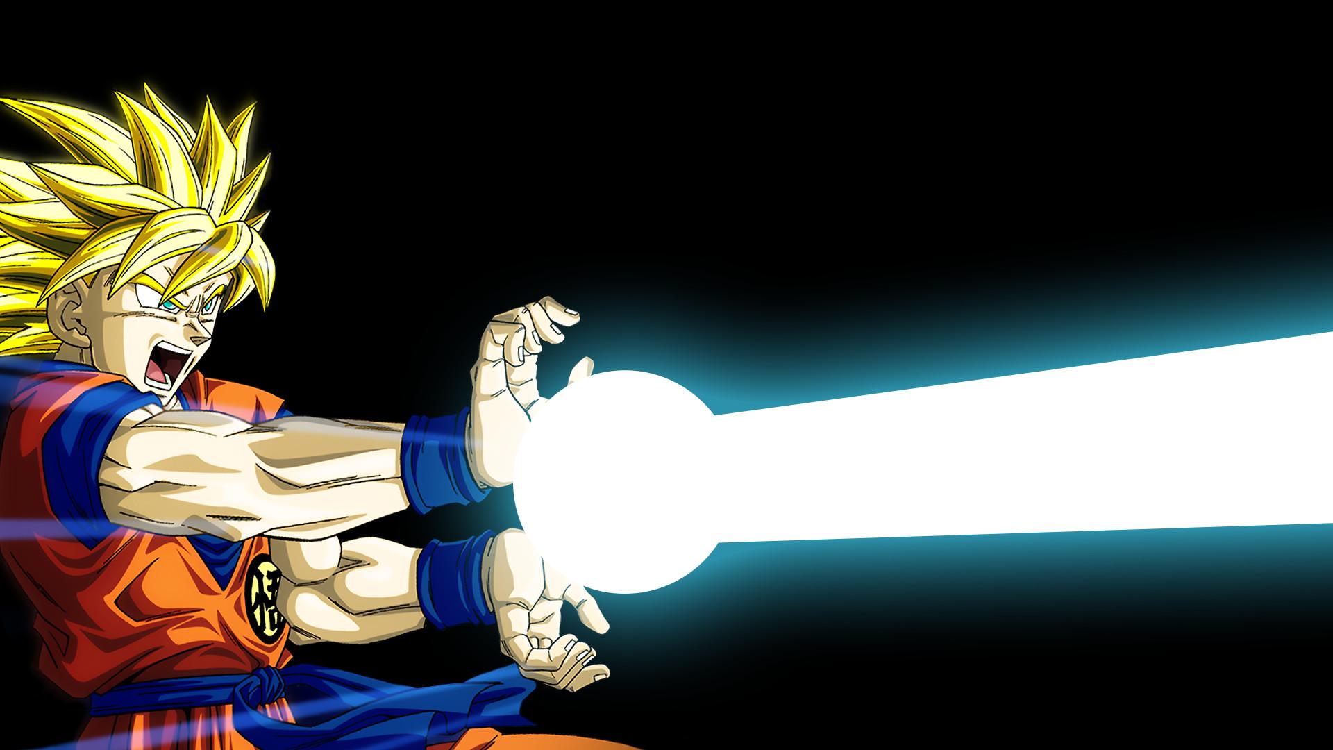 Anime – Dragon Ball Z Goku Kamehameha Wallpaper