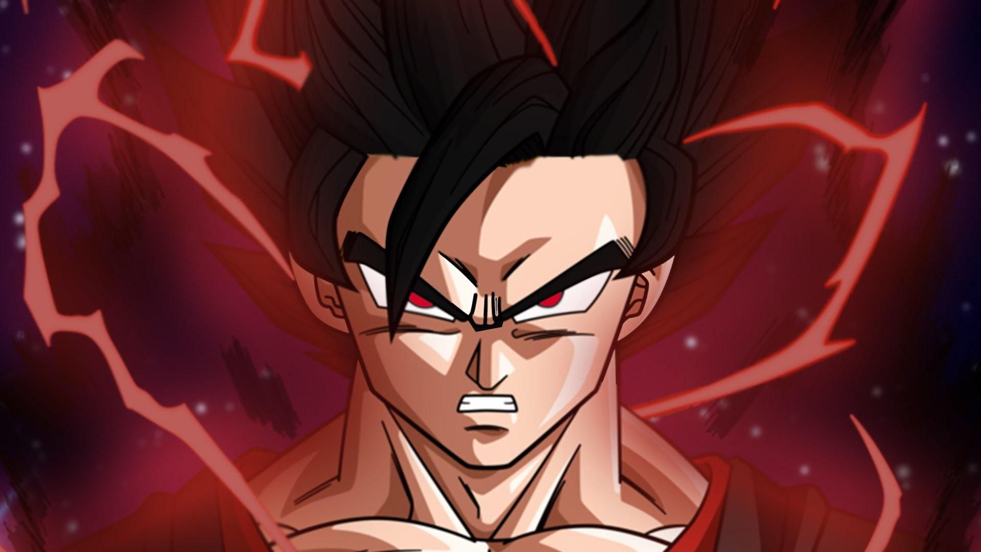 Dark Goku Dragon Ball Super Wallpaper
