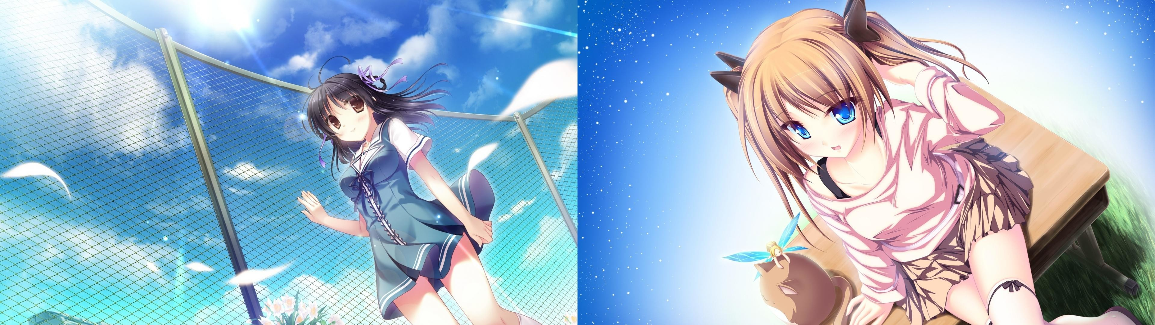Dual Screen Anime Wallpapers 3840×1080