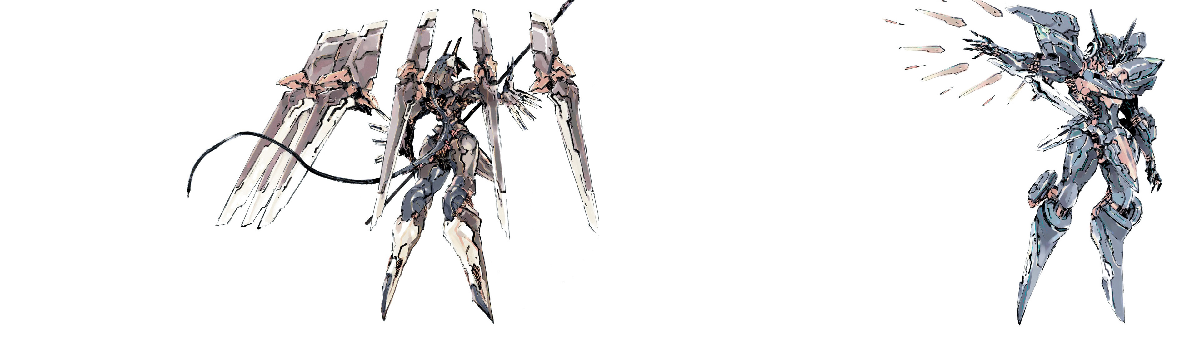 Zone of the Enders dual monitor wallpaper [3840×1080] …