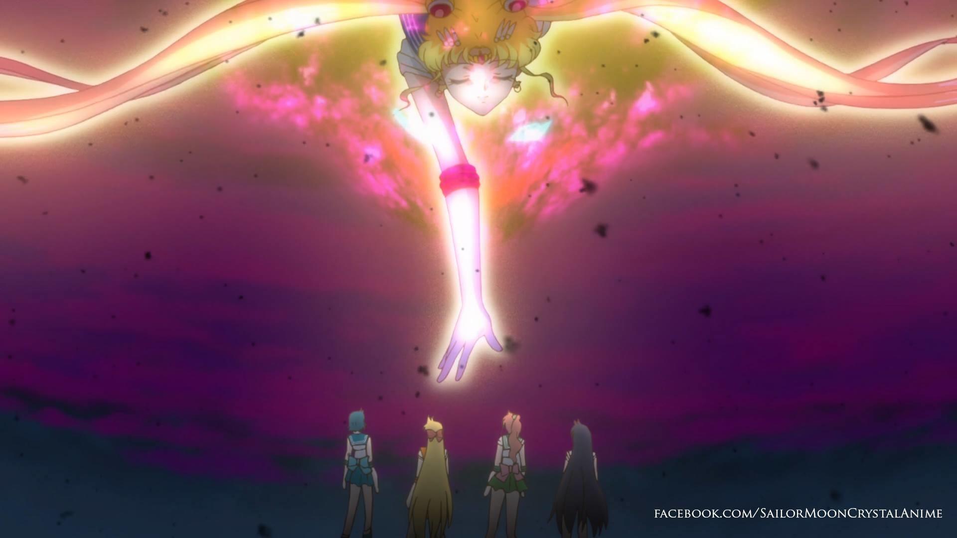 Sailor Moon's Spirit and the Sailor Guardians – Sailor Moon Crystal