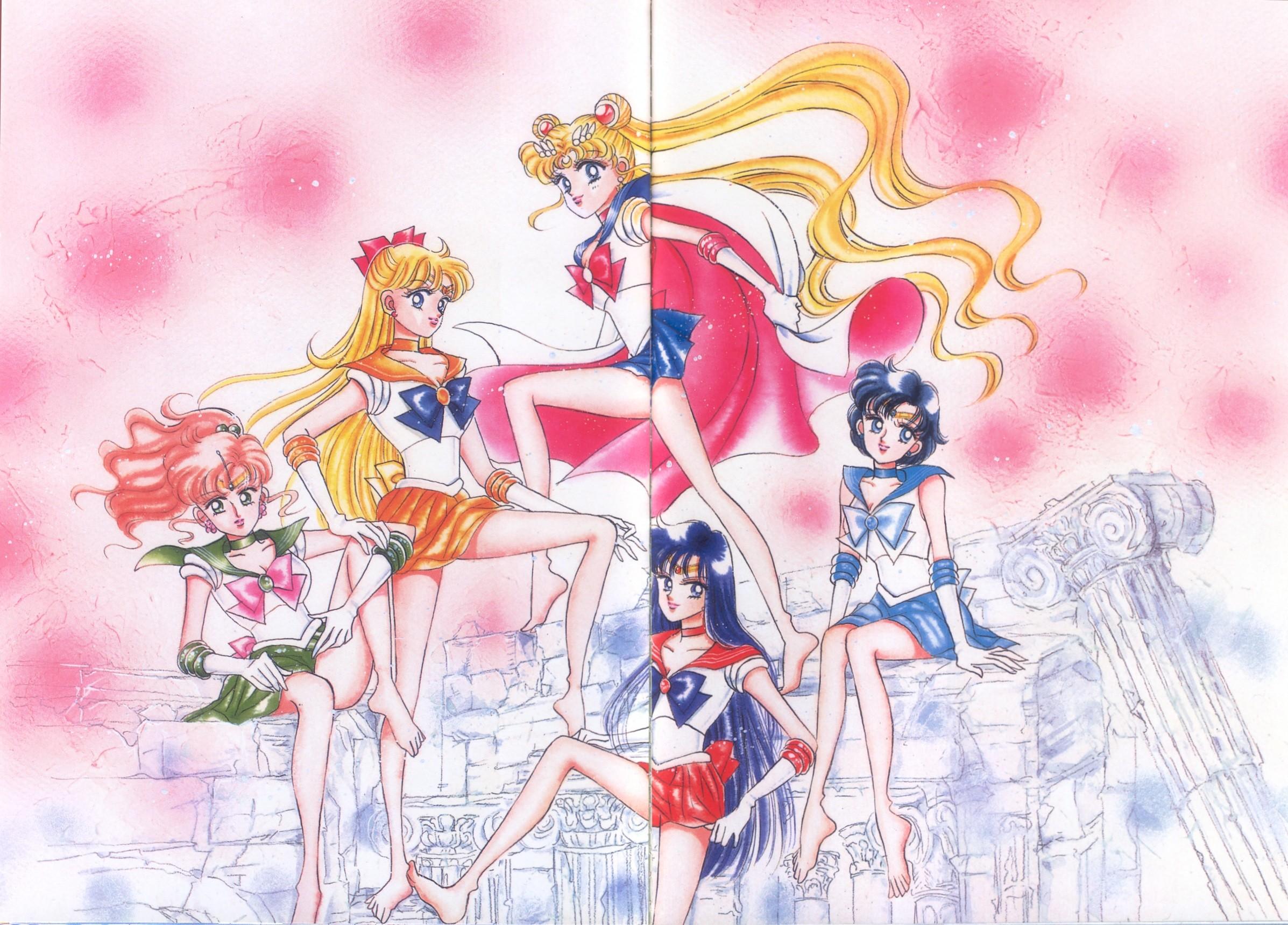 Bishoujo Senshi Sailor Moon Original Picture Collection Vol. I   Manga  Style!