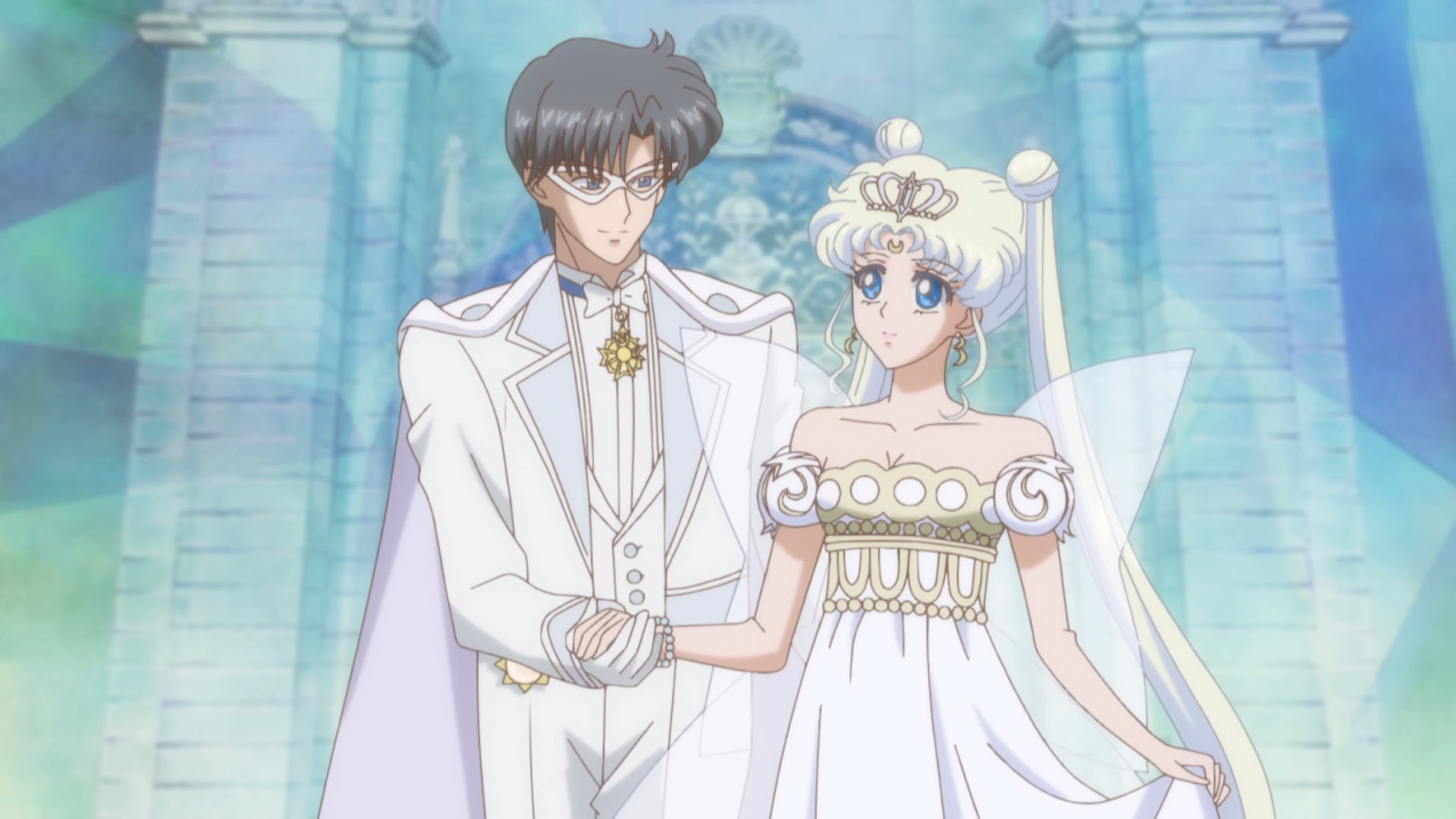 King Endymion & Neo Queen Serenity from Sailor Moon Crystal