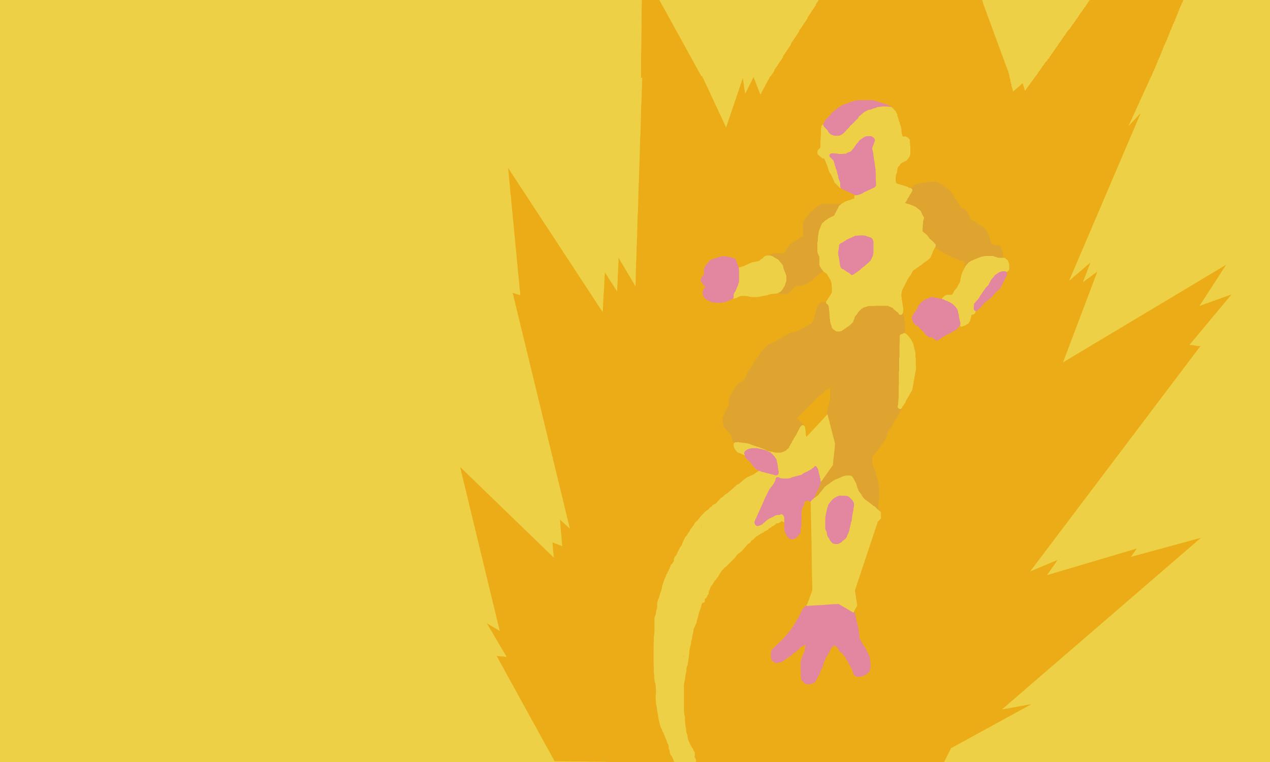 Golden Frieza Minimalist by Zeeeeblueboy01 Golden Frieza Minimalist by  Zeeeeblueboy01