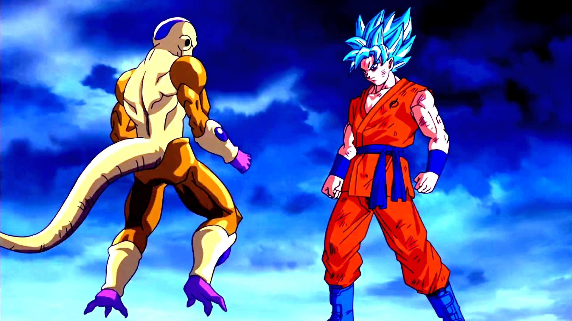 GOKU VS GOLDEN FRIEZA HD