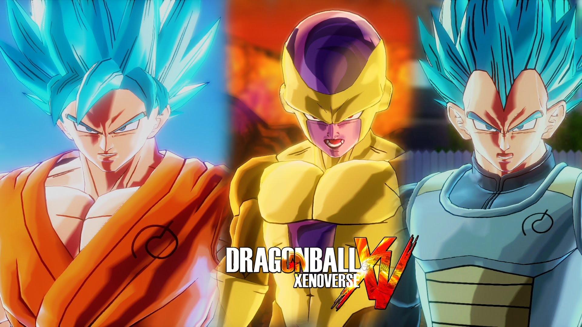 Dragon Ball Xenoverse (PS4) : SSGSS Goku & SSGSS Vegeta Vs Golden Frieza &  Beerus 【60FPS 1080P】 – YouTube