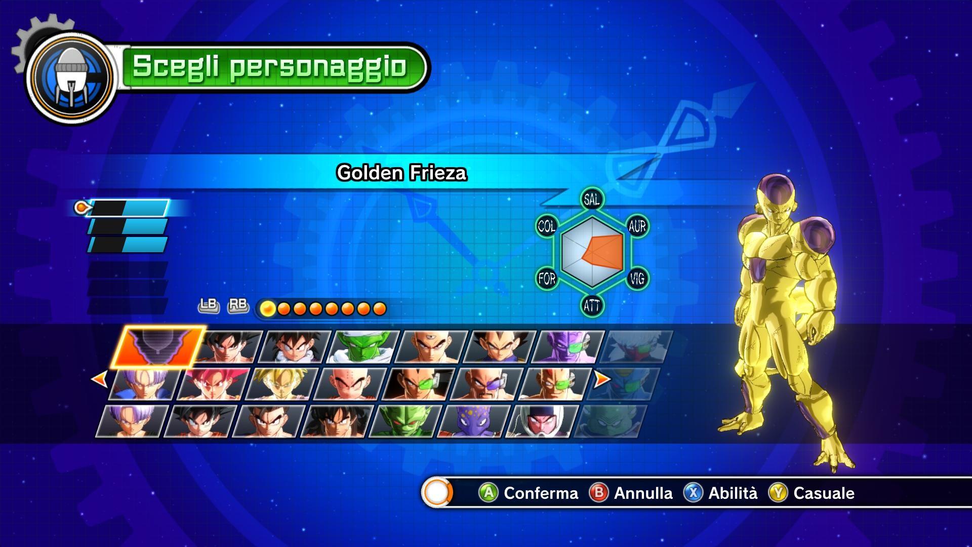 Golden Frieza CAC Full Power