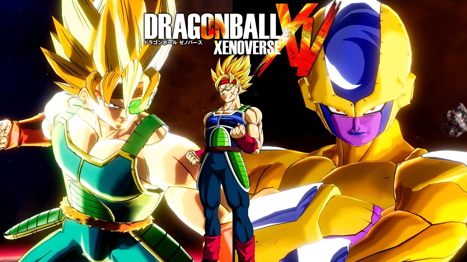 Dragon Ball Xenoverse – Super Saiyan Bardock SSJ vs Golden Frieza – YouTube