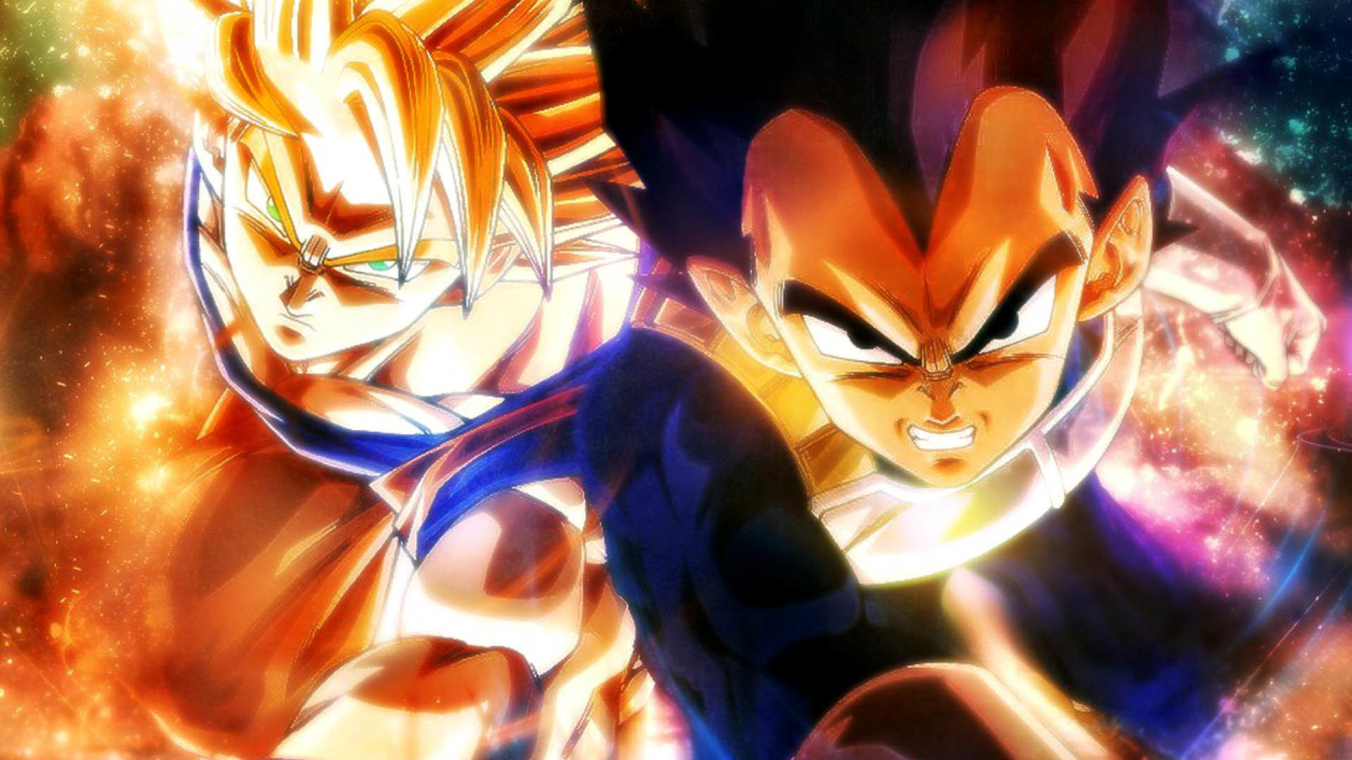 Dragon Ball – Goku & Vegeta wallpaper