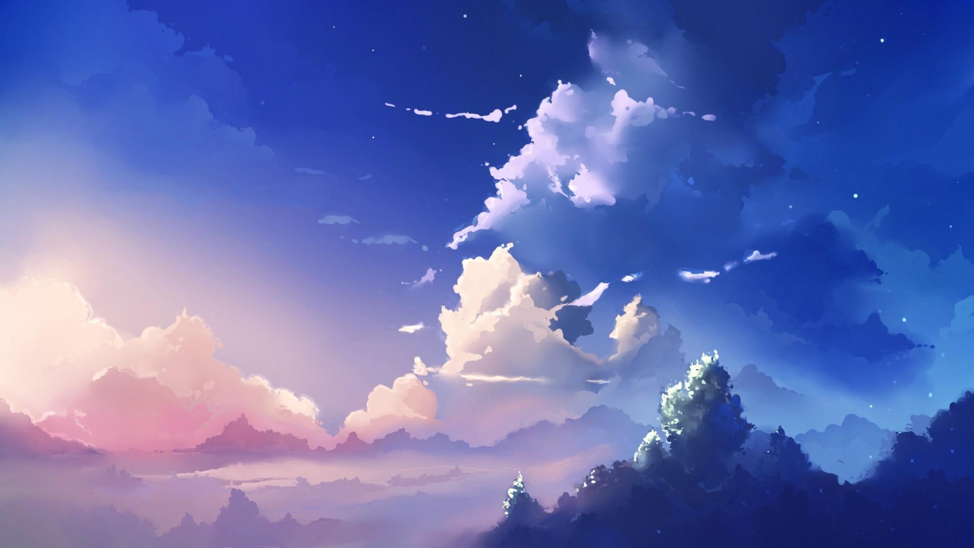 Anime Scenery Wallpaper Background ~ Sdeerwallpaper