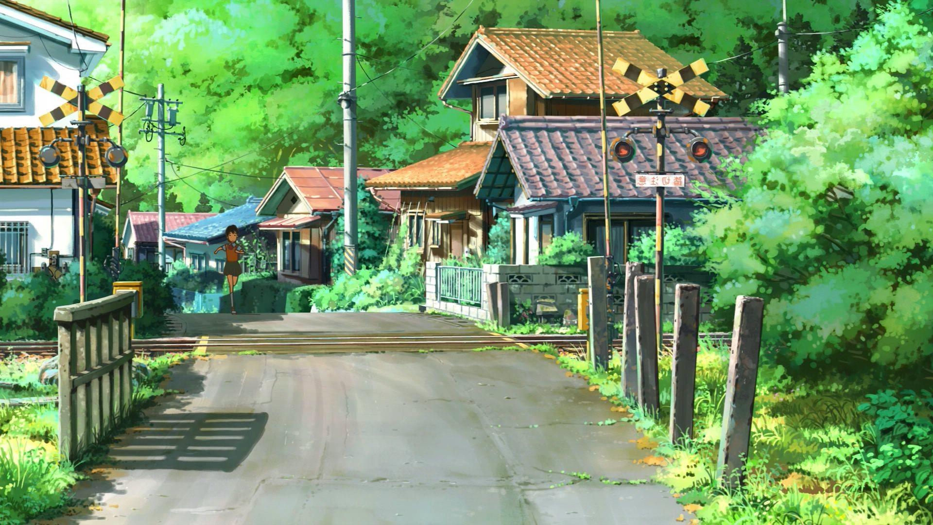 Lovely Anime Scenery Wallpaper