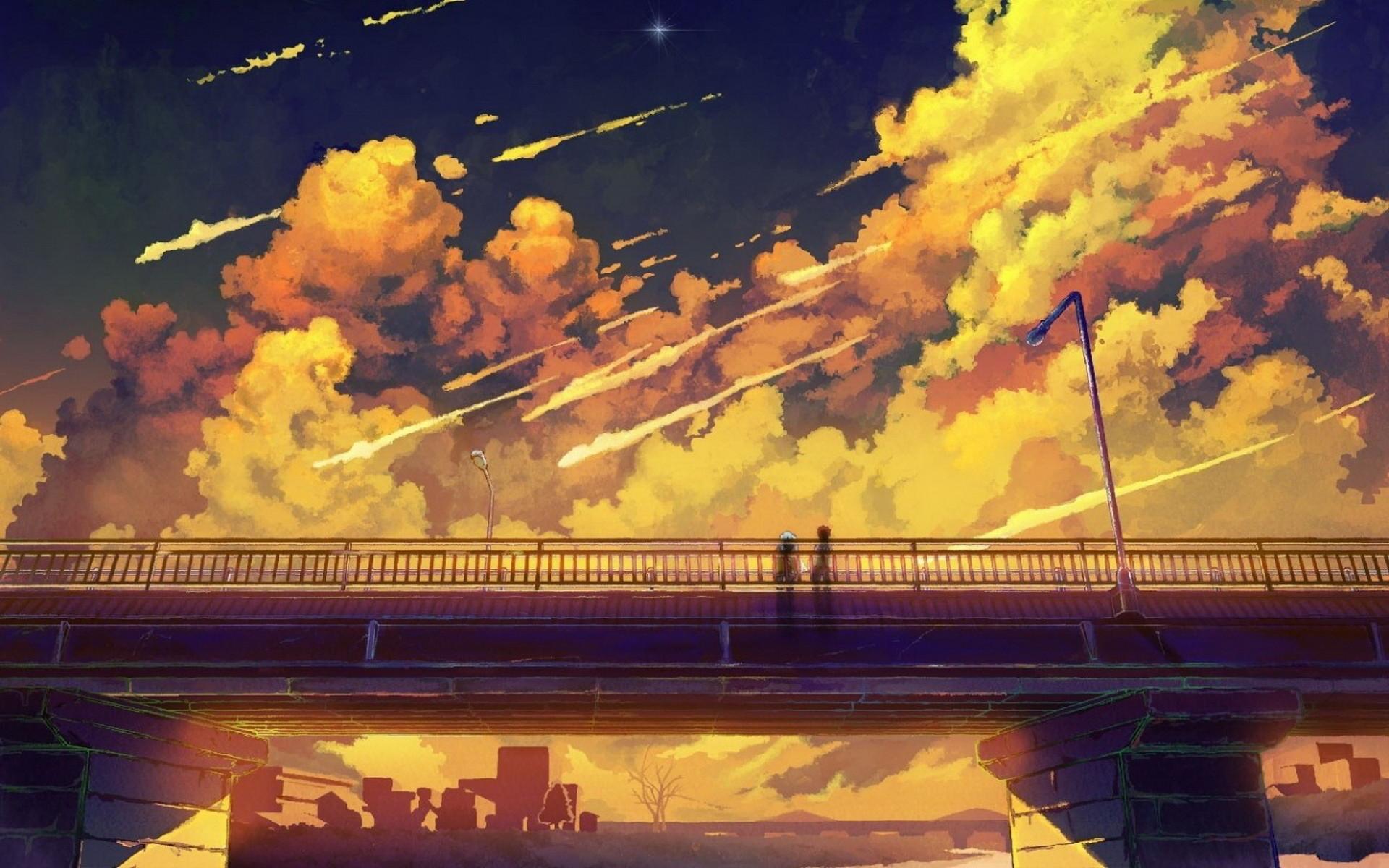 anime scenery wallpaper background 7978