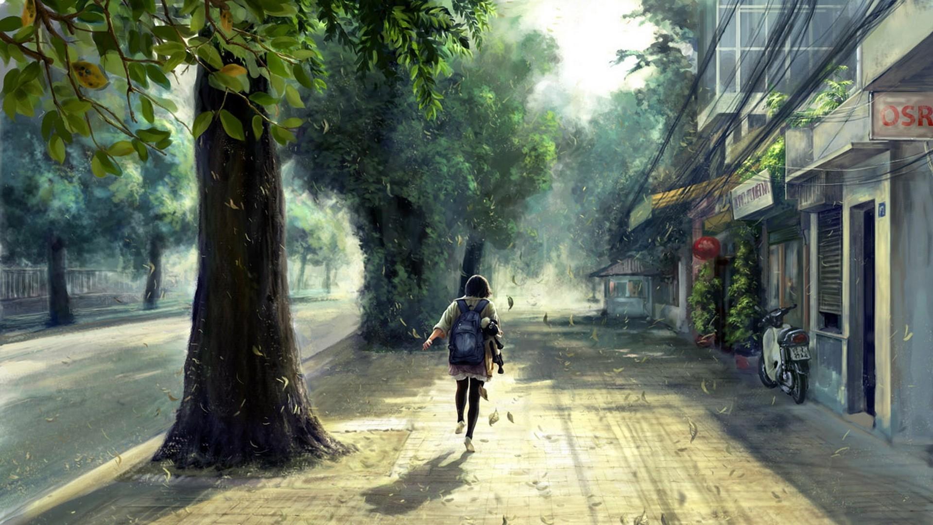 Wallpaper Anime Scenery x