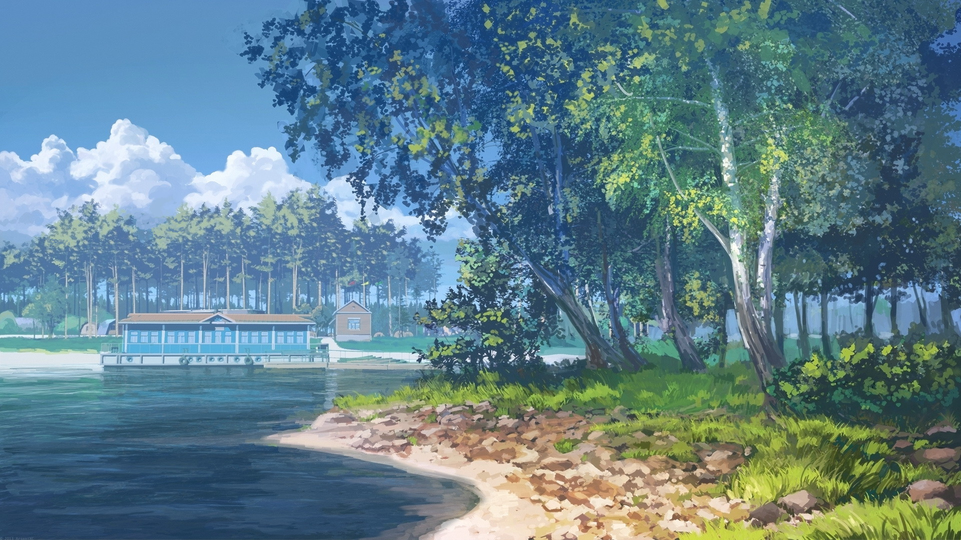 Anime Scenery Wallpaper Pictures 7982