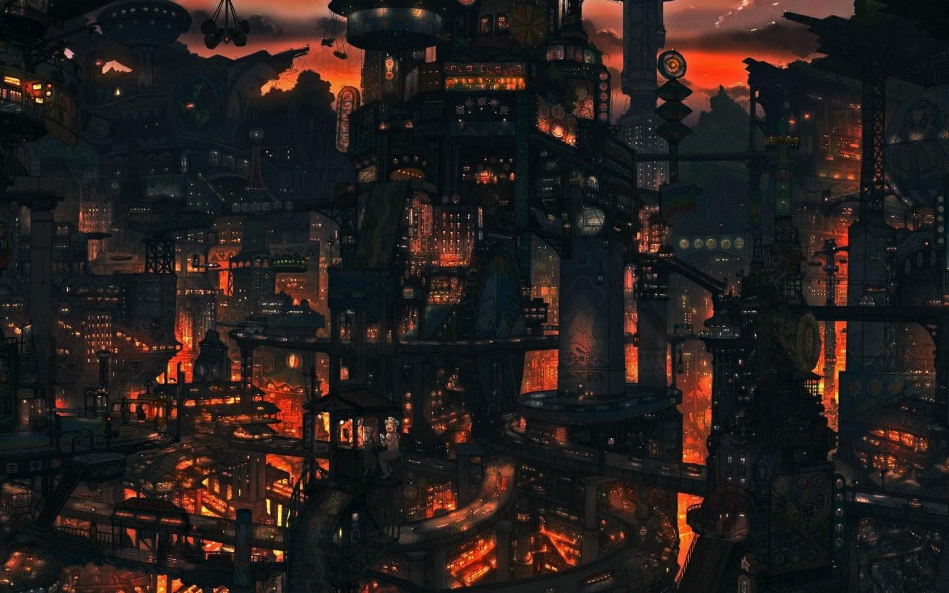 Anime Scenery 405080 …