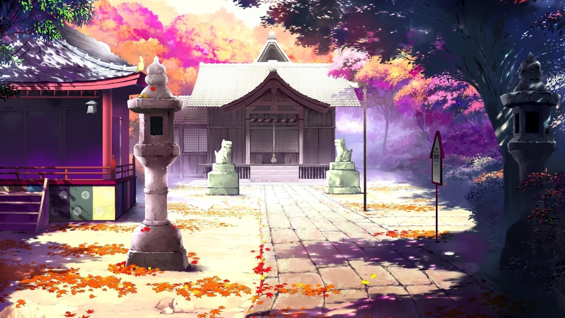Pretty Anime Scenery Wallpaper 42593