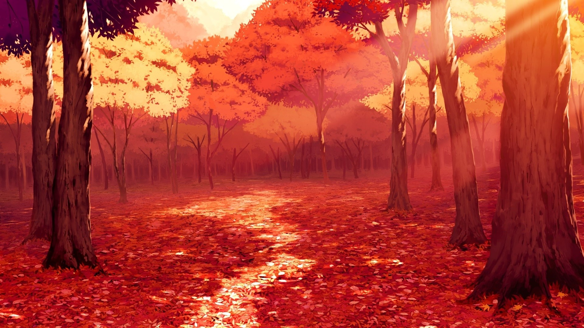 Gorgeous Anime Scenery Wallpaper 42590