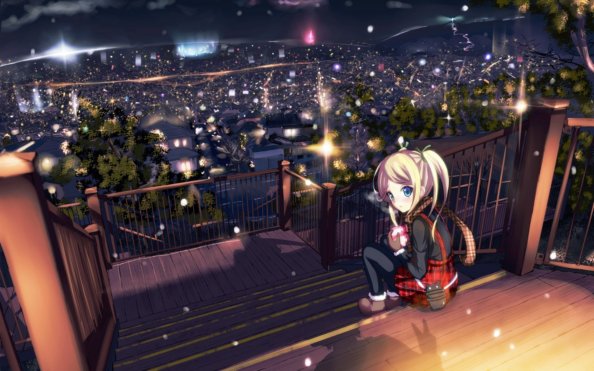 Awesome Anime Scenery Wallpaper 7986