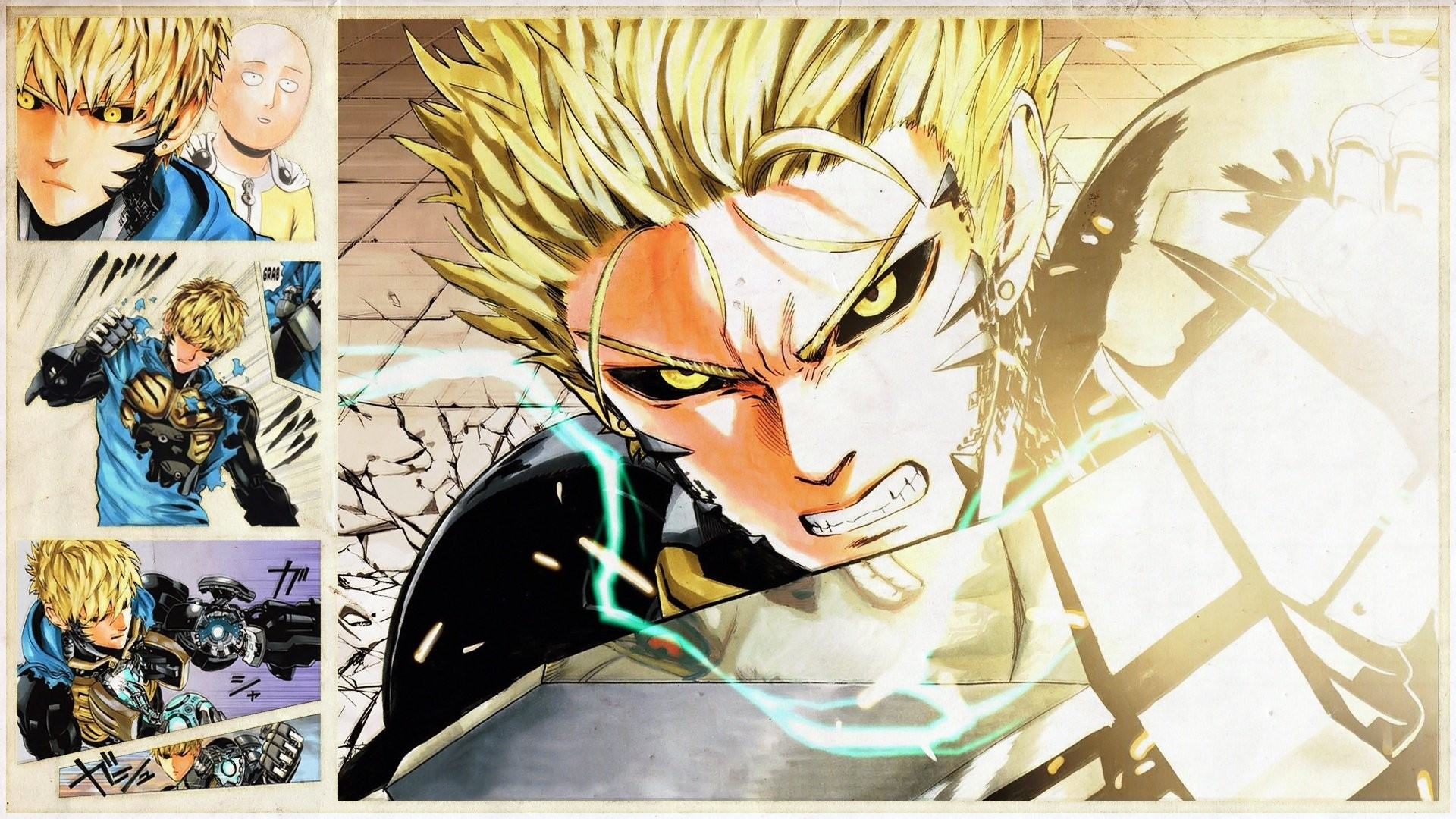 Genos One-Punch Man · HD Wallpaper   Background ID:656717