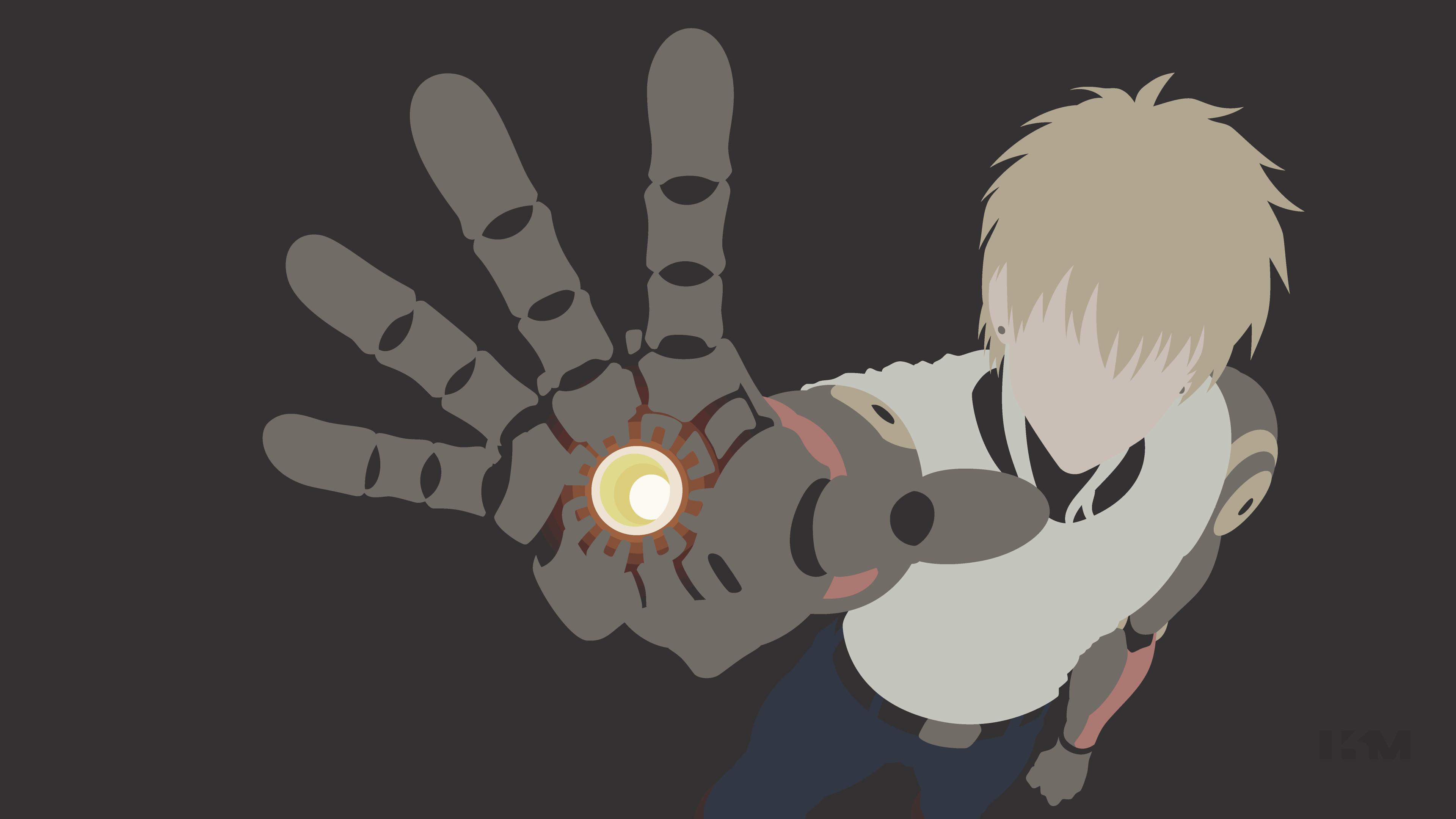 Anime One-Punch Man Genos Wallpaper   One Punch Man   Pinterest .