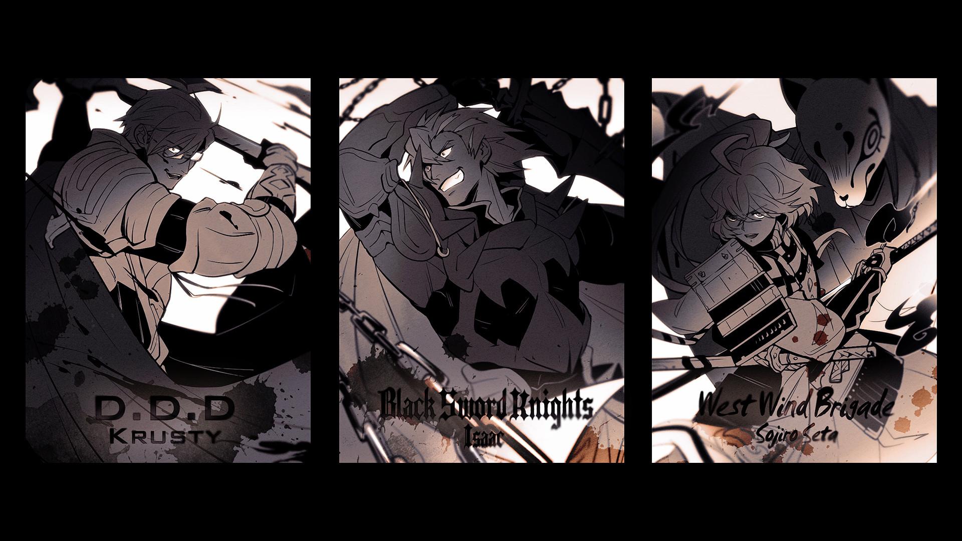 Krusty Isaac Soujiro 3z HD Wallpaper. Anime & Manga + Log Horizon