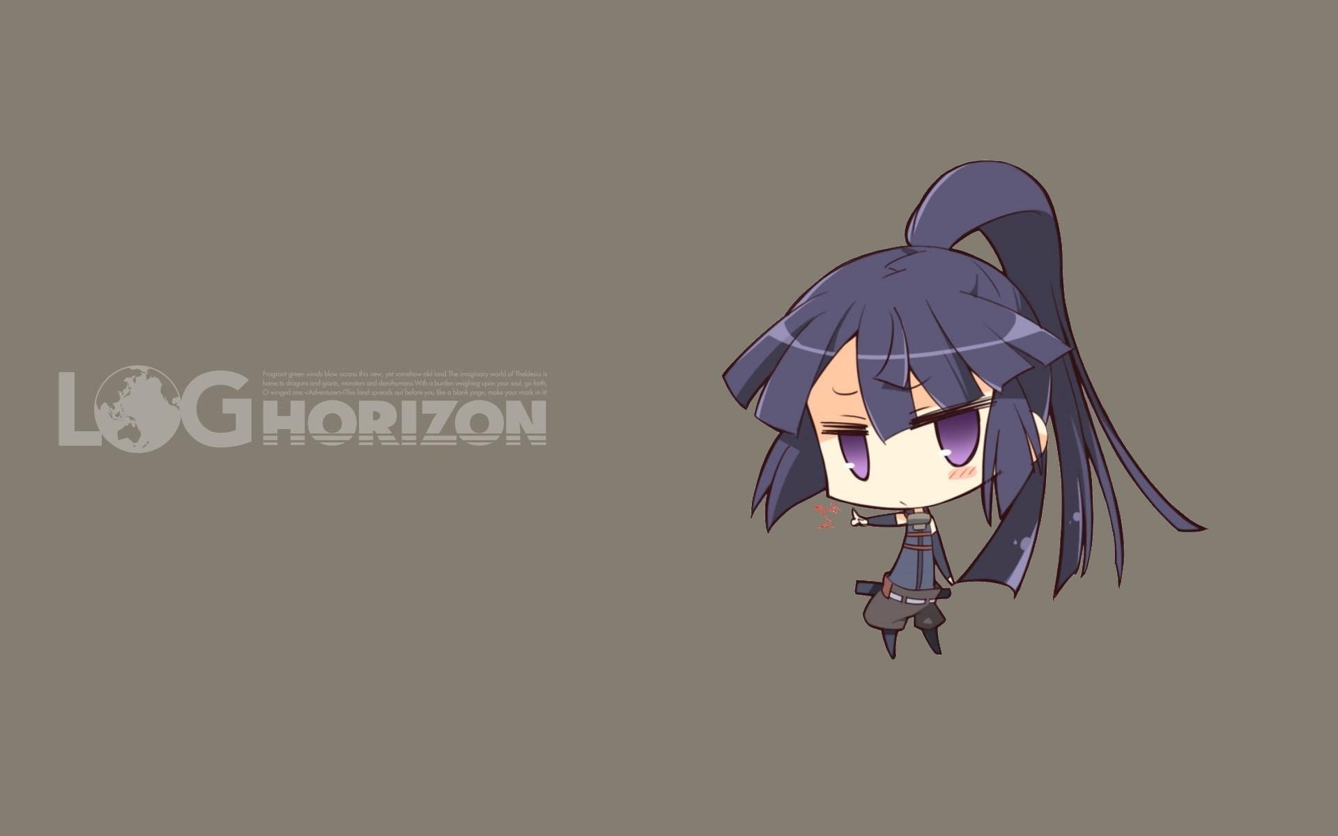 Anime Log Horizon series