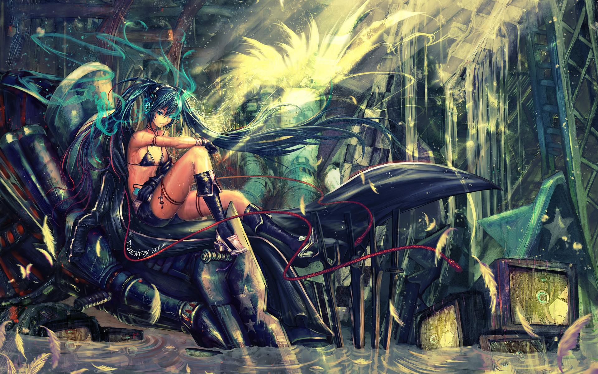 Black Rock Shooter 6 anime manga game girls mech fantasy sci fi science  wallpaper | | 27739 | WallpaperUP
