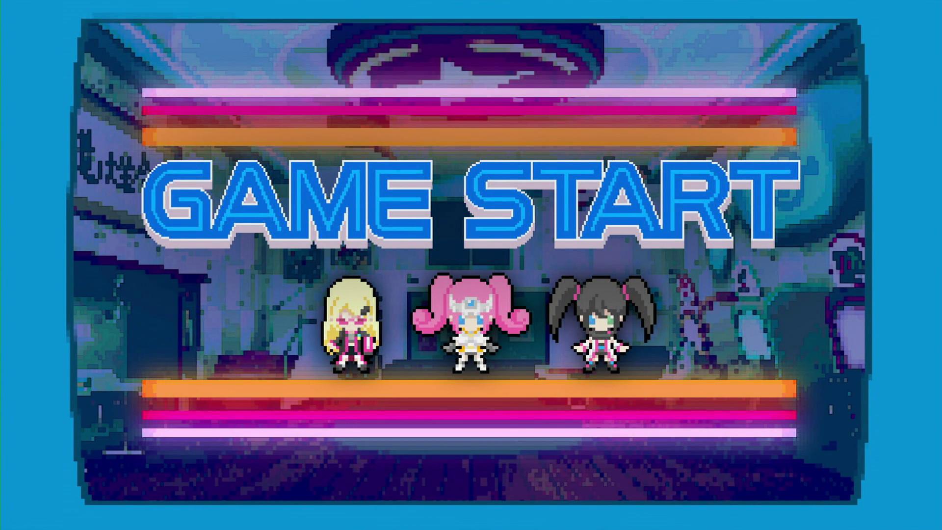 SeHa Girls Sega Hard Girls Game Start Dreamcast Saturn Mega Drive Pixel