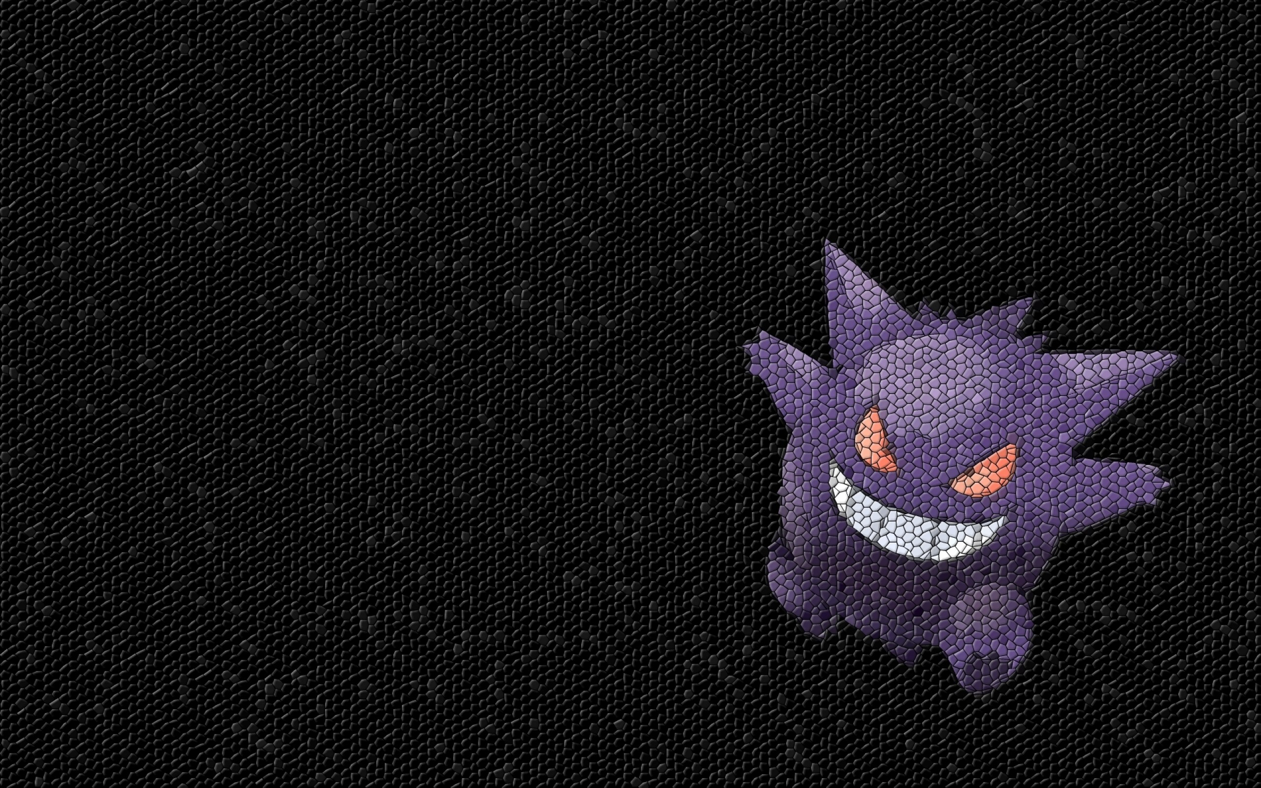 pokemon gengar mosaic 1920×1200 wallpaper Art HD Wallpaper