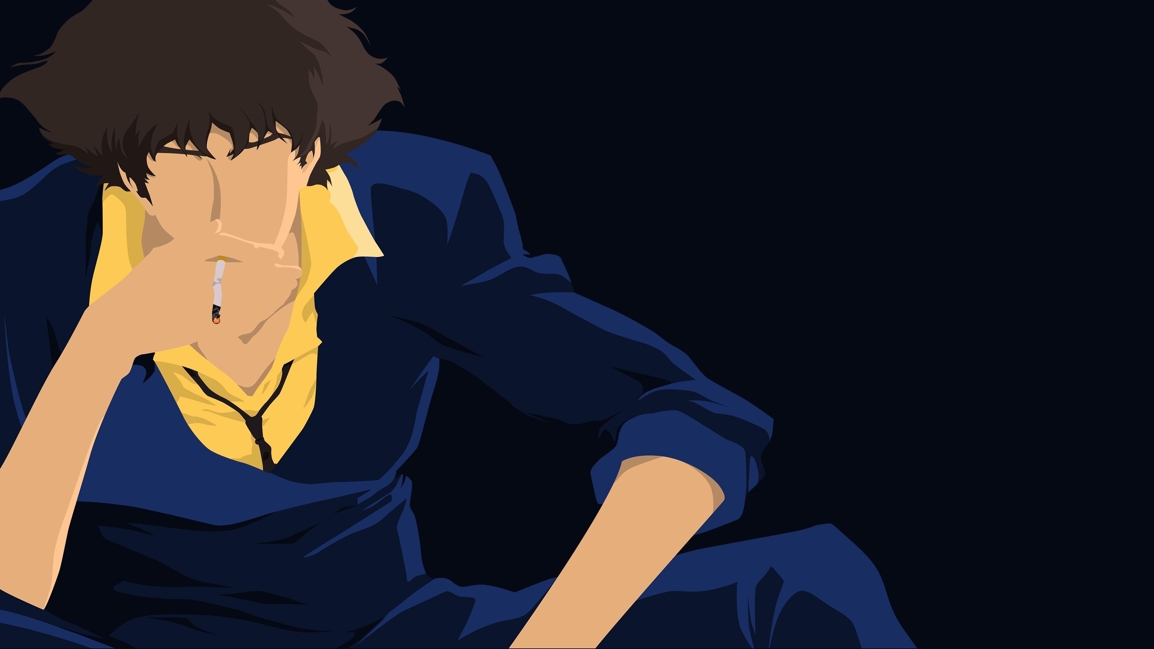 Cowboy Bebop, Spike Spiegel, Smoking, Anime Vectors Wallpapers HD / Desktop  and Mobile Backgrounds