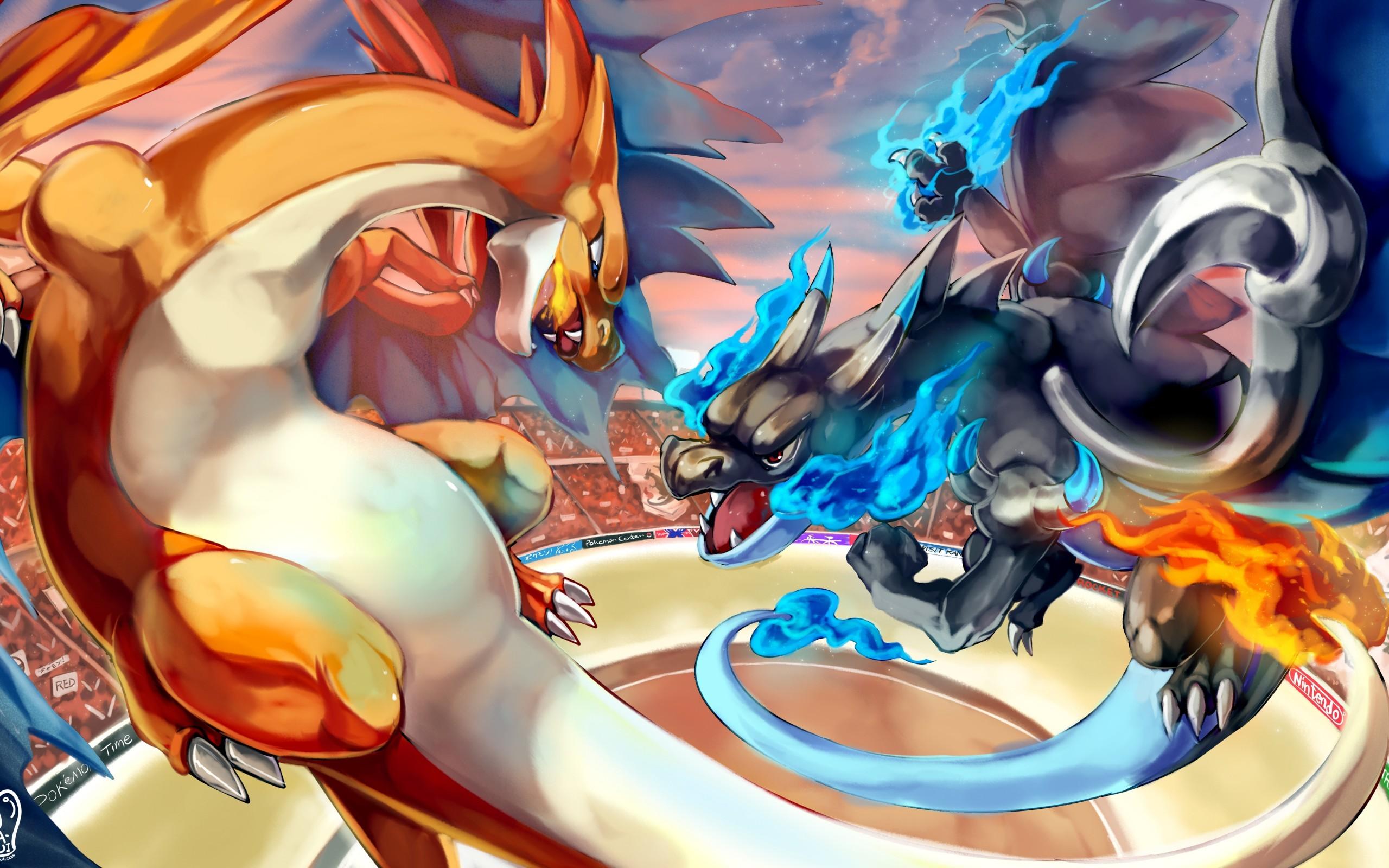 Pokemon, Charizard Vs Charizard X