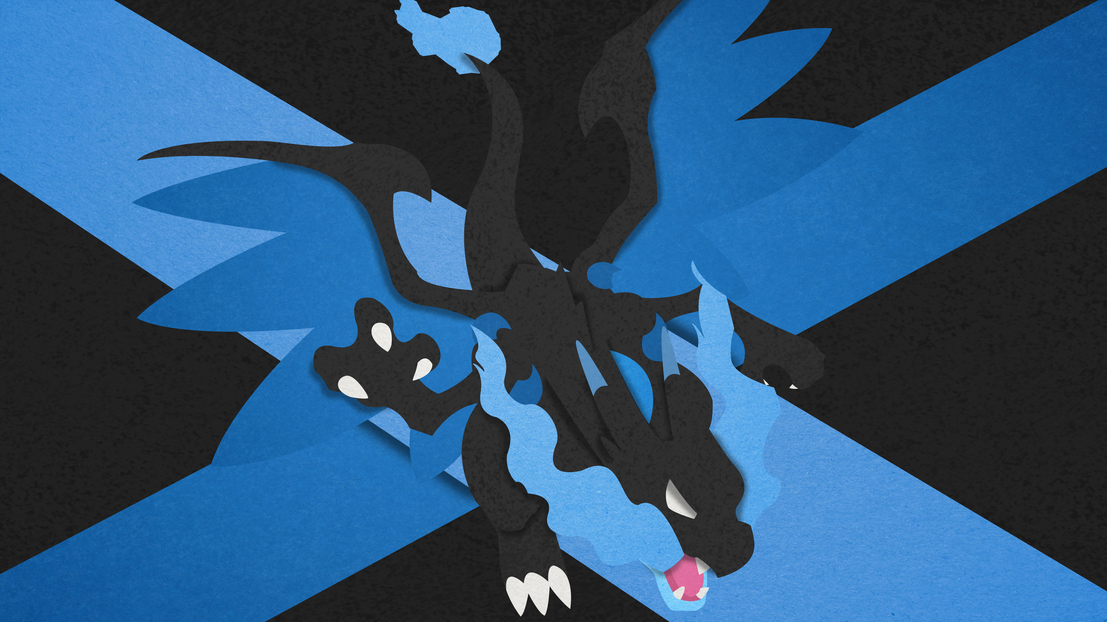 … Mega Charizard X – Material Design by EugenianToons