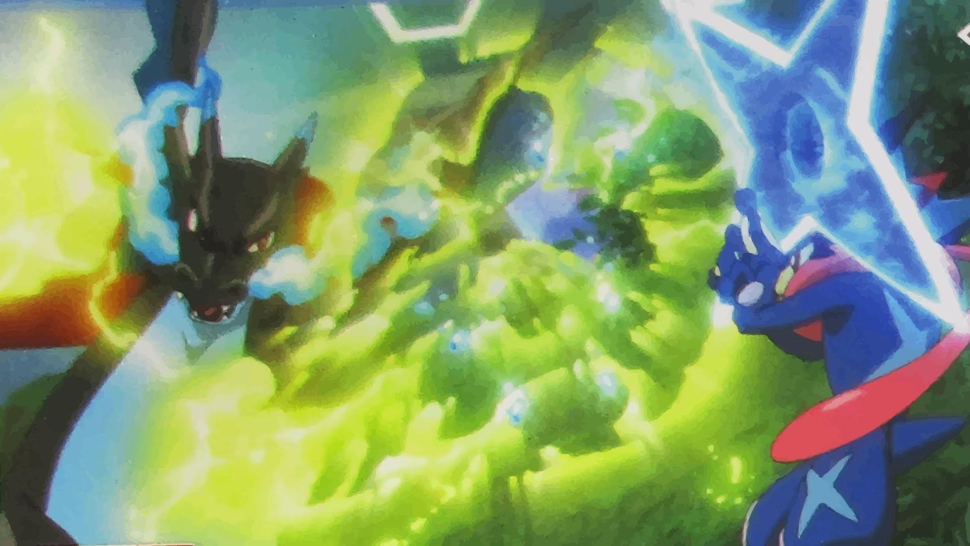 「AMV」POKEMON XYZ ASH VS ALAN (Kalos League) (Final) Greninja vs Mega  Charizard X