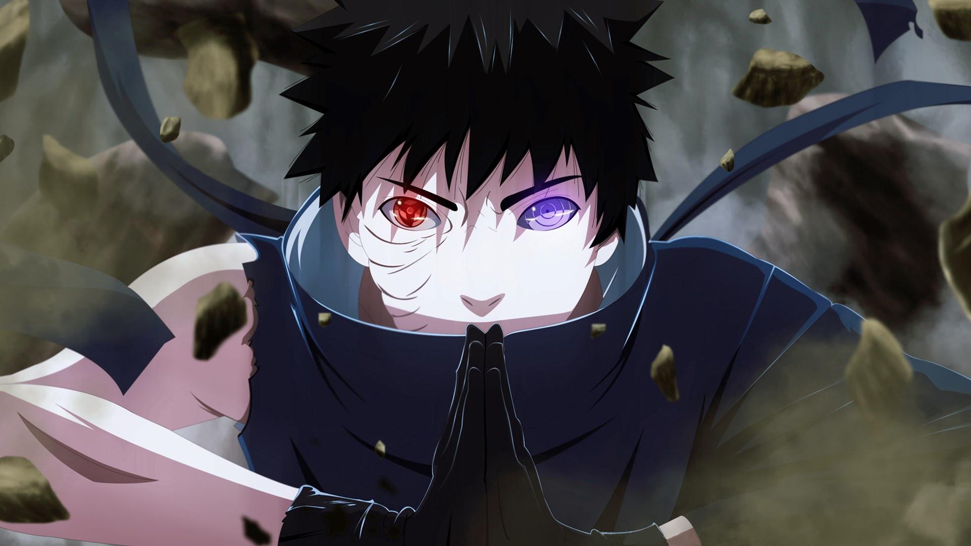 Anime – Naruto Rinnegan (Naruto) Sharingan (Naruto) Obito Uchiha Wallpaper