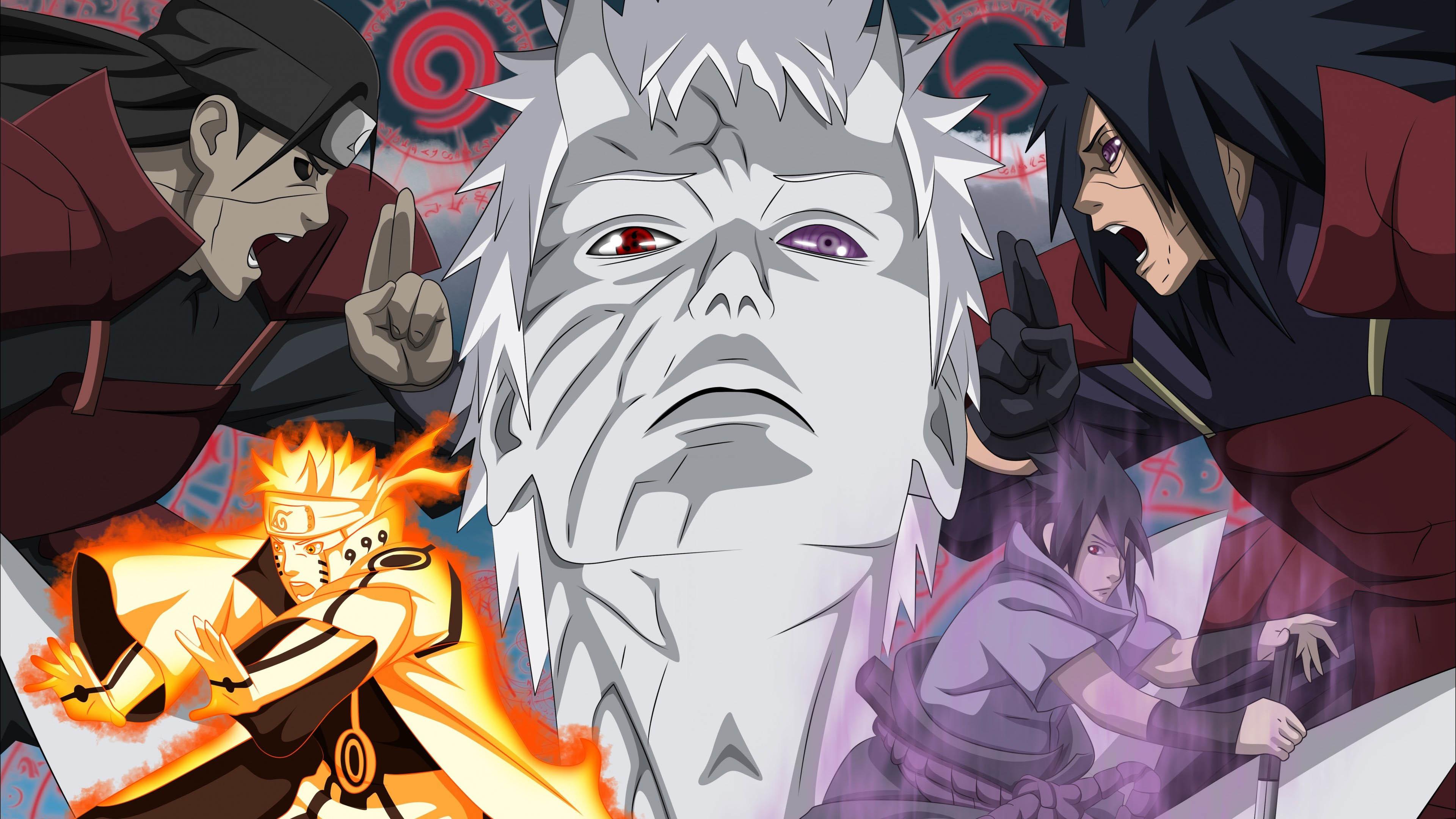 Naruto VS Madara Uchiha wallpaper